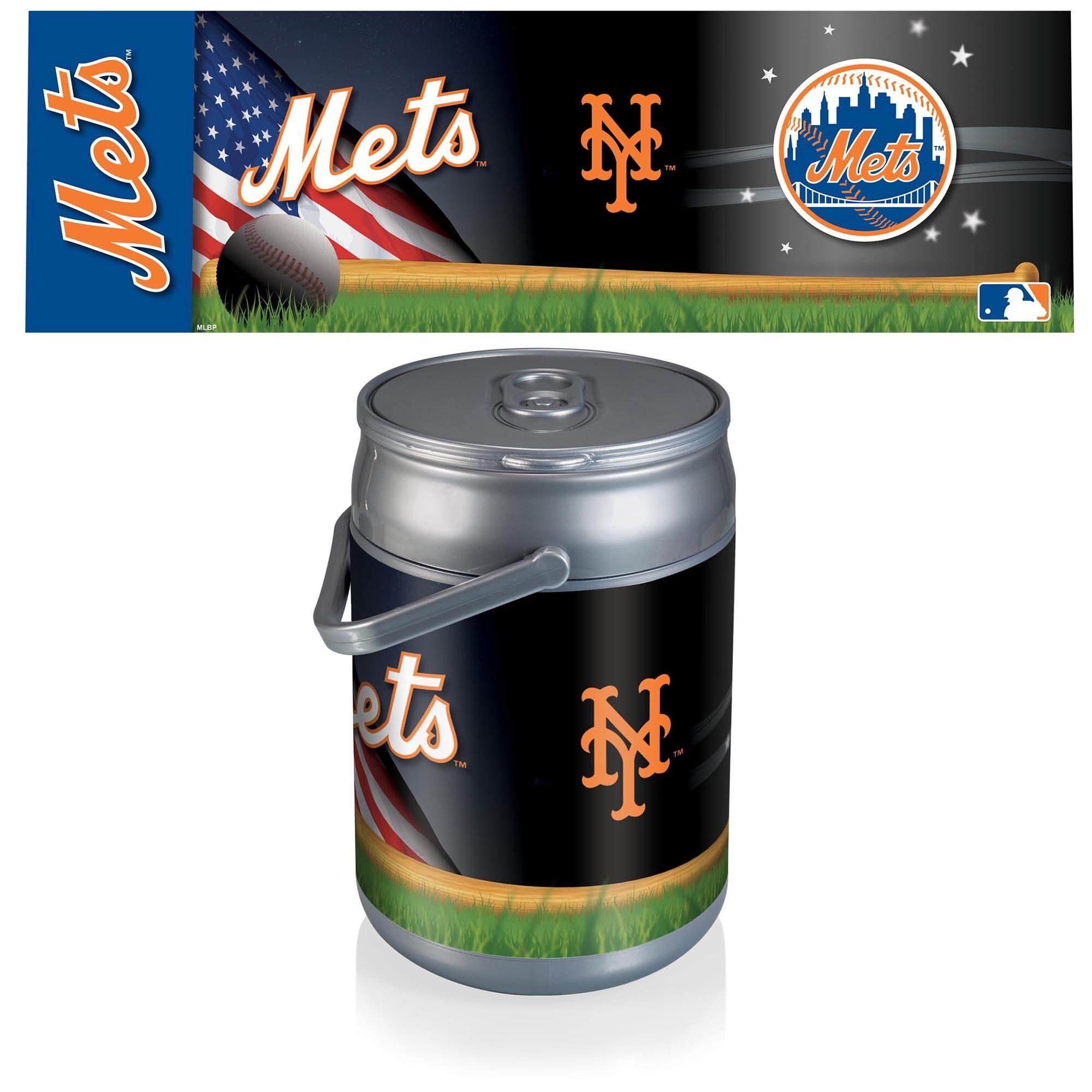 New York Mets Diagonal Can Cooler