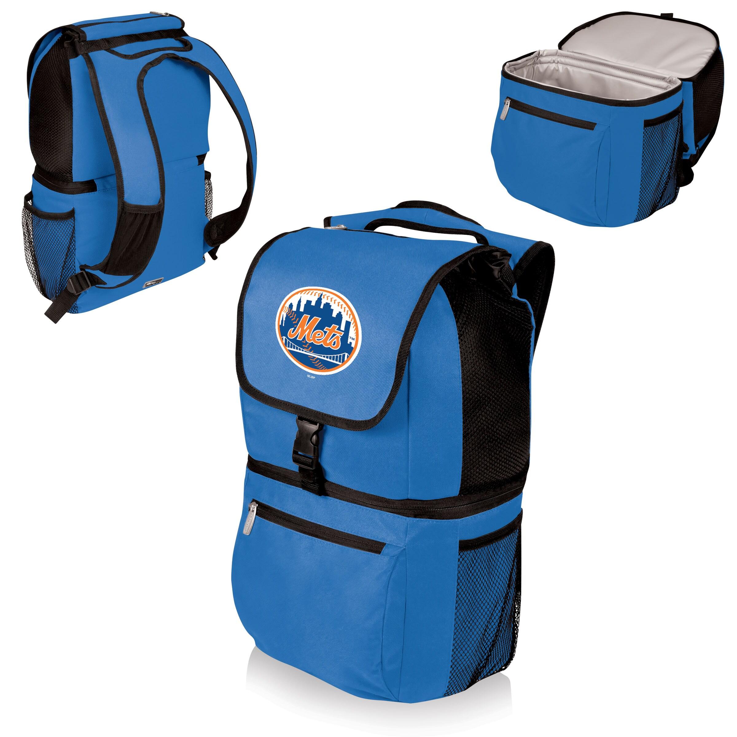 New York Mets Zuma Cooler Backpack - Blue