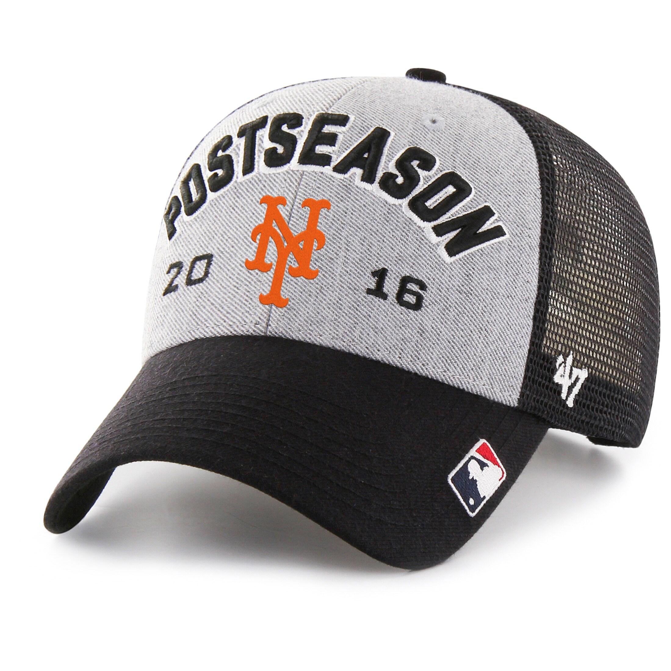 New York Mets '47 2016 Postseason Tamarac Locker Room Adjustable Hat - Gray