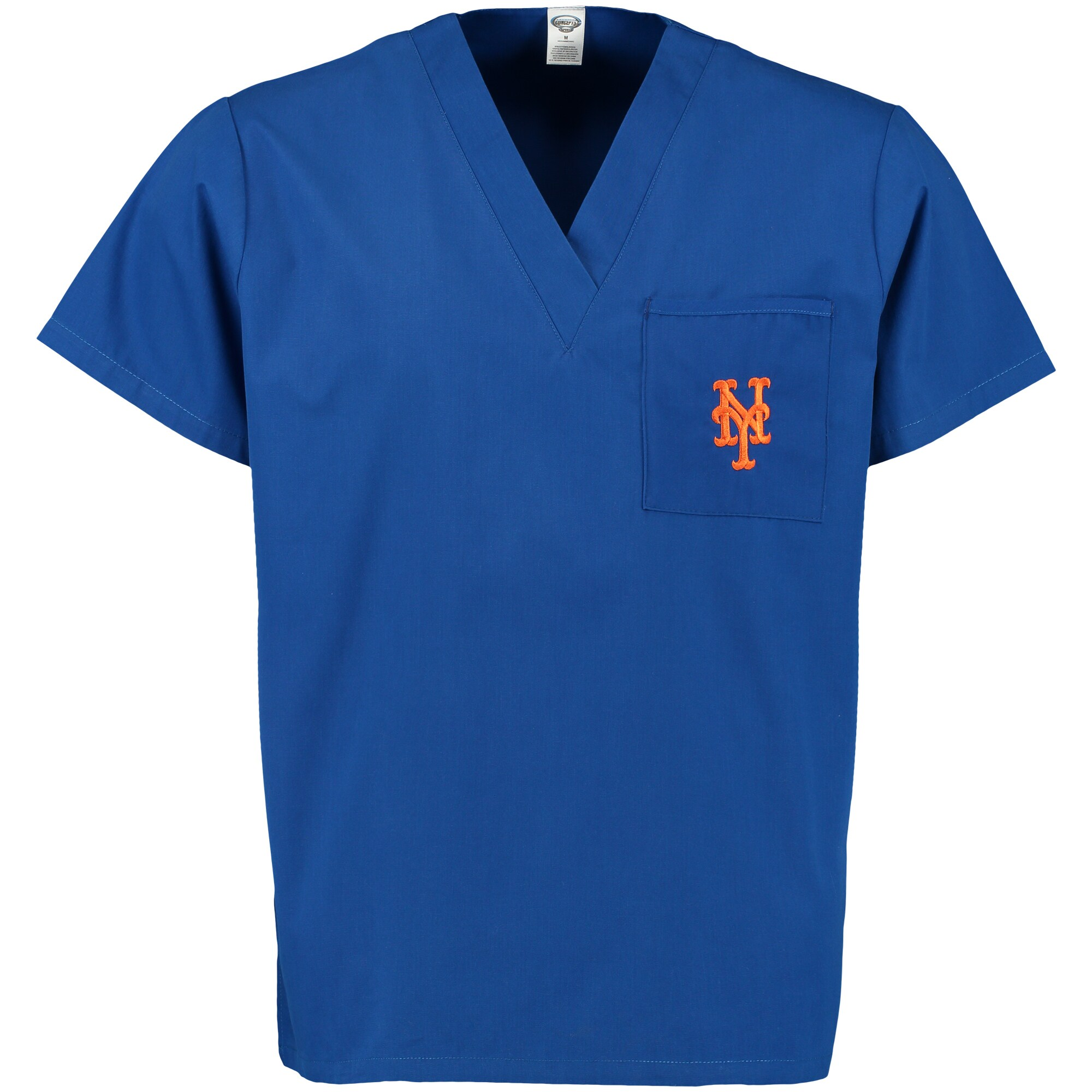 New York Mets Concepts Sport Scrub Top with Pocket - Royal