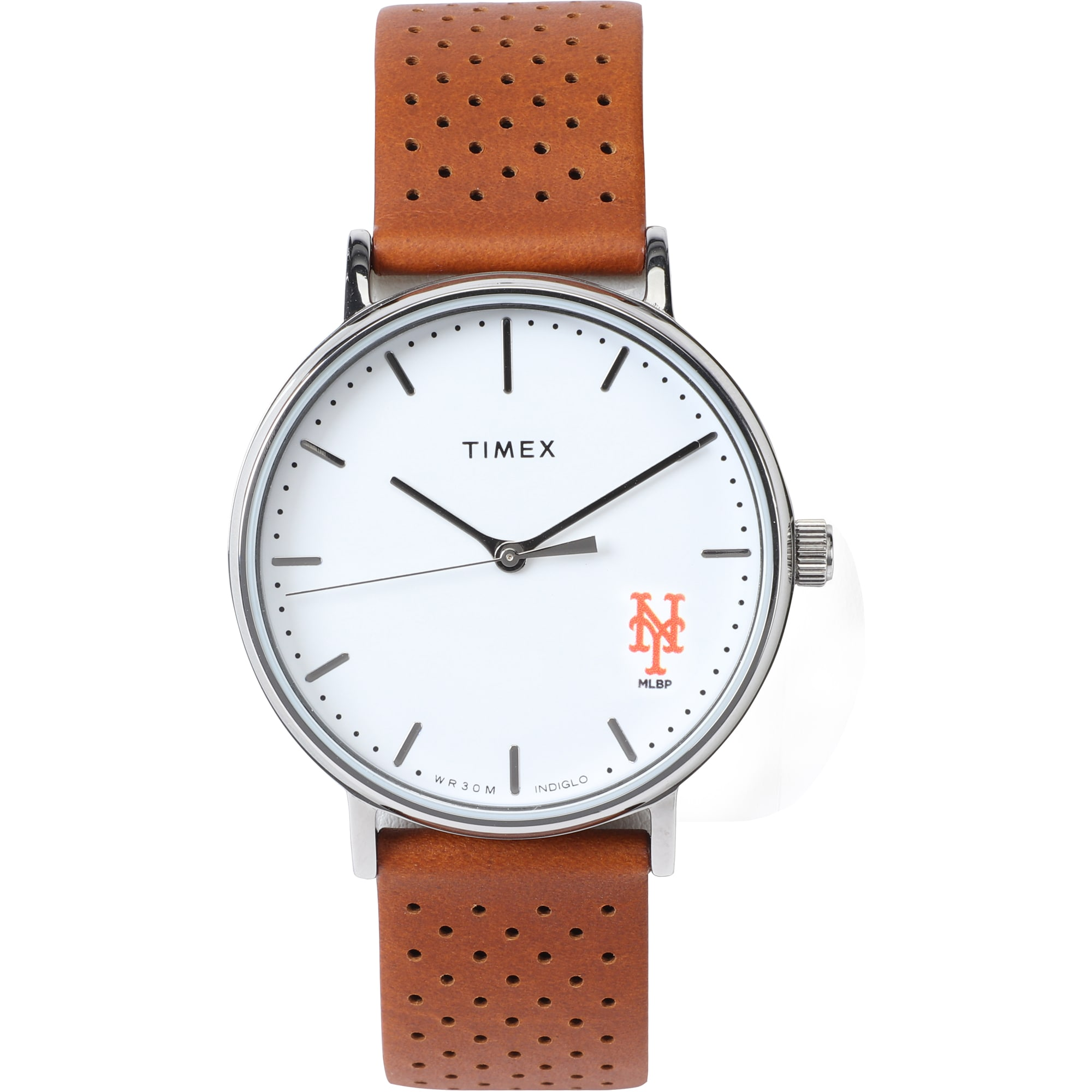 New York Mets Timex Bright Whites Tribute Collection Watch