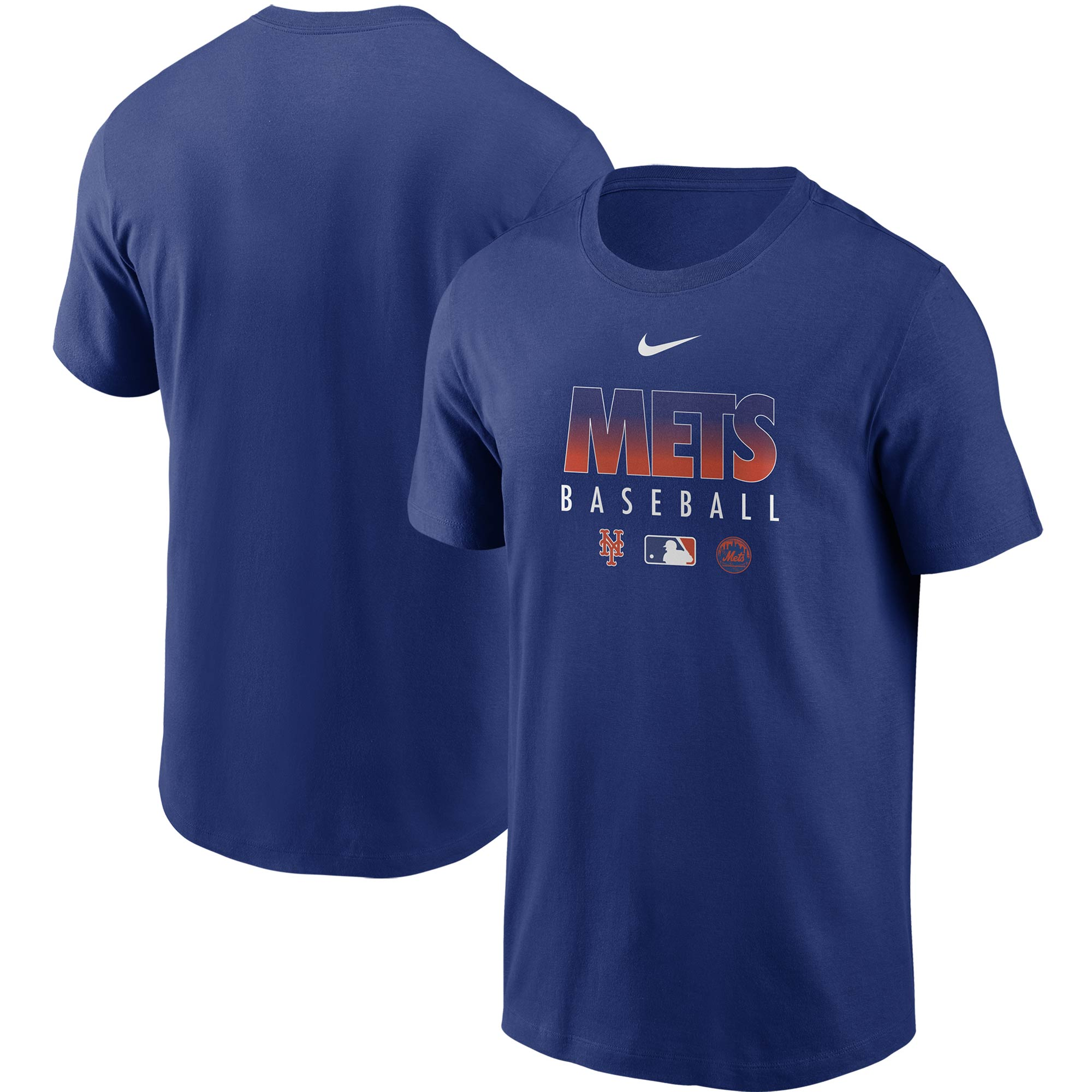 New York Mets Nike Authentic Collection Team Performance T-Shirt - Royal