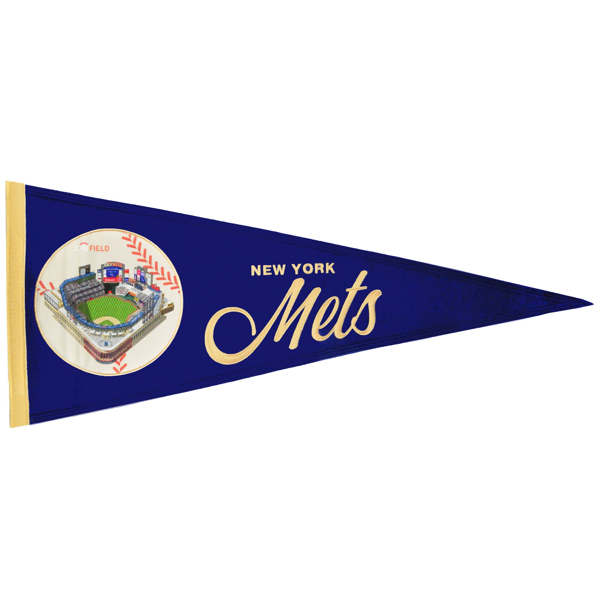 New York Mets 13'' x 32'' Ballpark Traditions Pennant