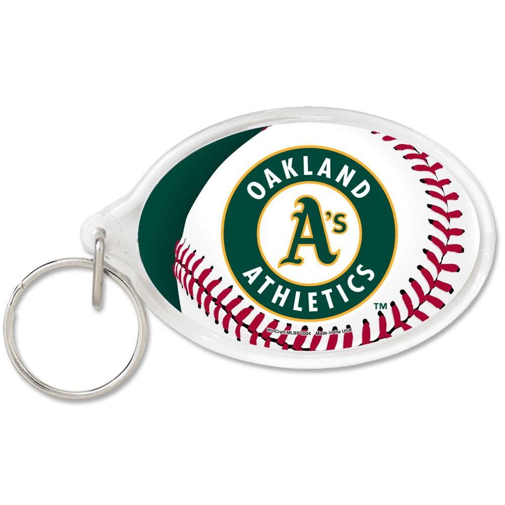 Oakland Athletics WinCraft Premium Acrylic Keychain