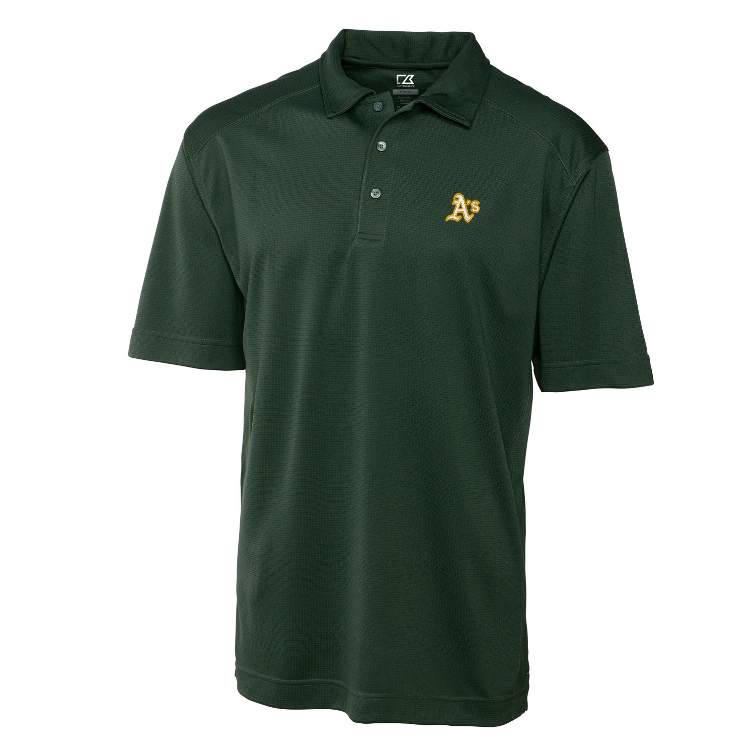 Oakland Athletics Cutter & Buck Big & Tall DryTec Genre Polo - Green