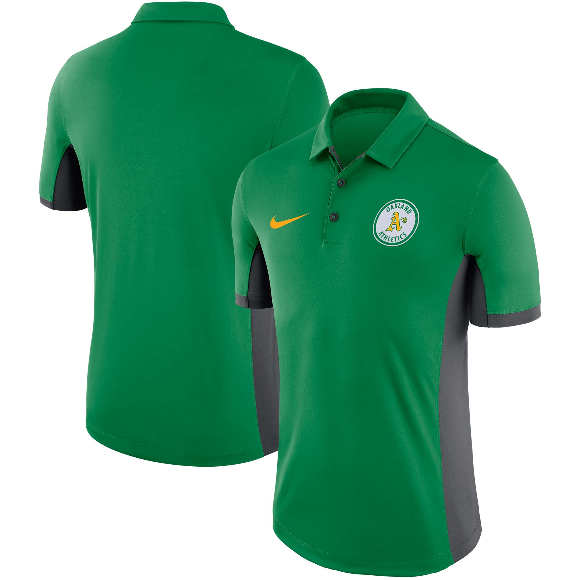 Oakland Athletics Nike Performance Franchise Polo - Green