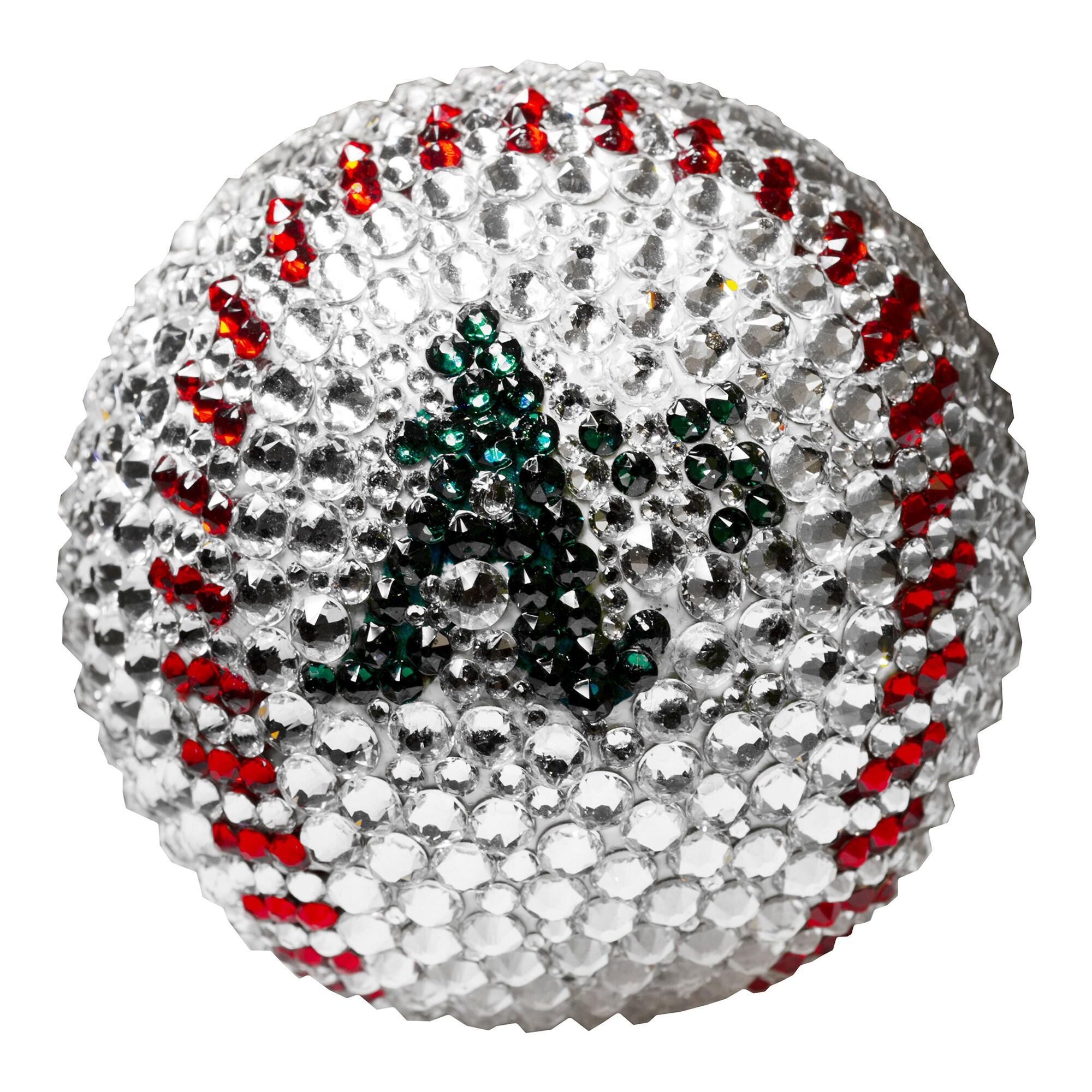 Oakland Athletics Crystal Baseball