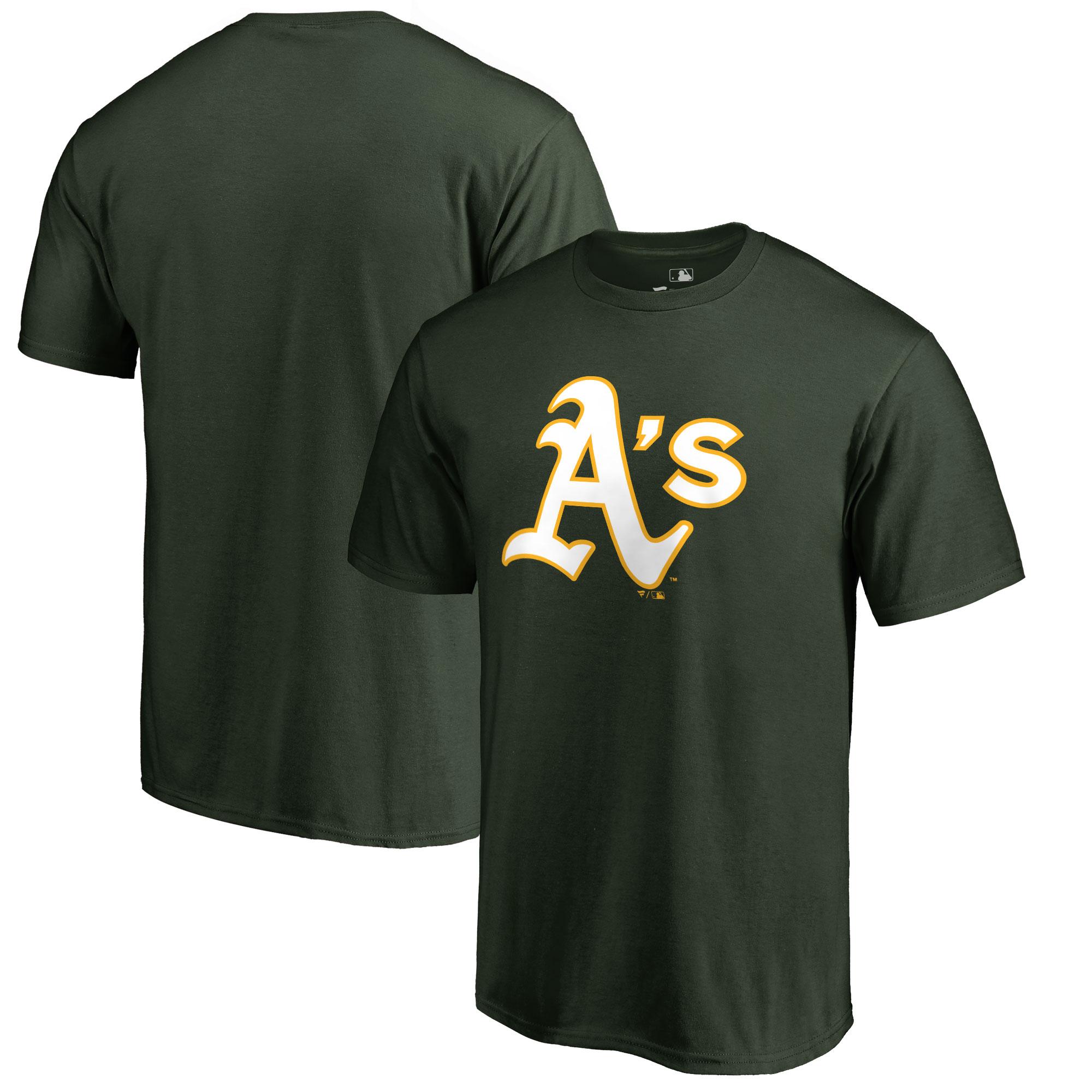 Oakland Athletics Big & Tall Primary Team Logo T-Shirt - Green