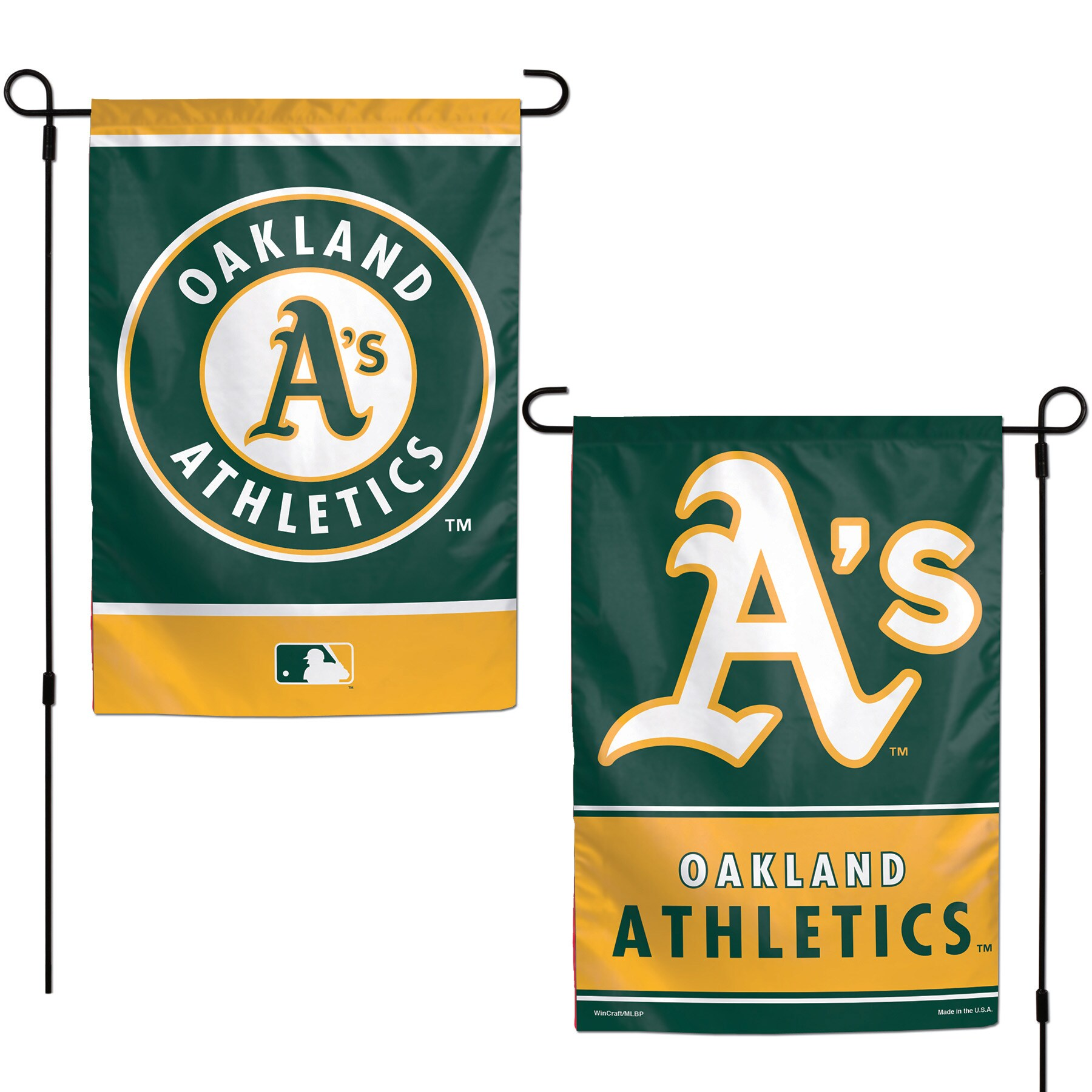 "Oakland Athletics WinCraft 12"" x 18"" Double-Sided Garden Flag"