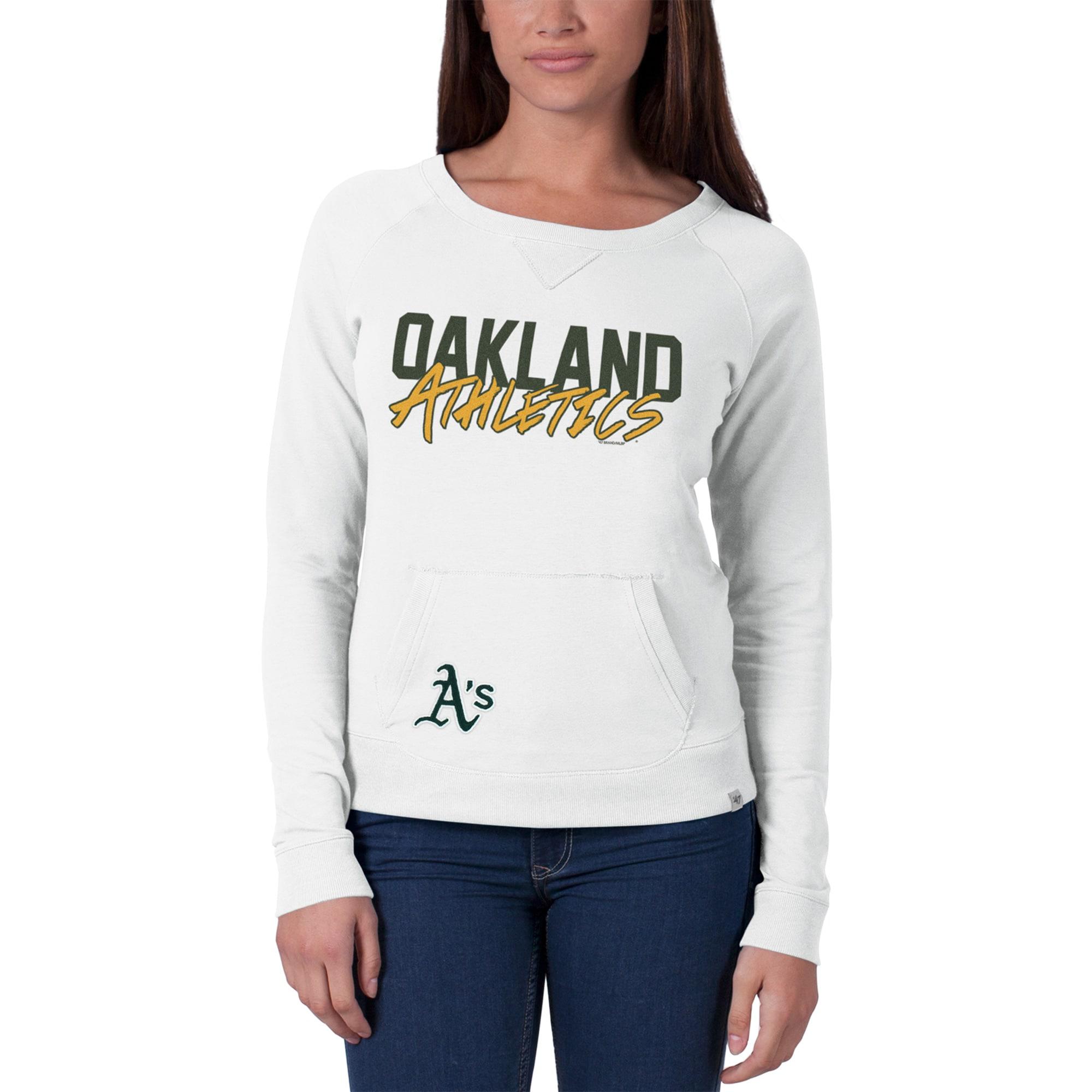 Oakland Athletics '47 Women's Gameday Crew Neck Sweater - White