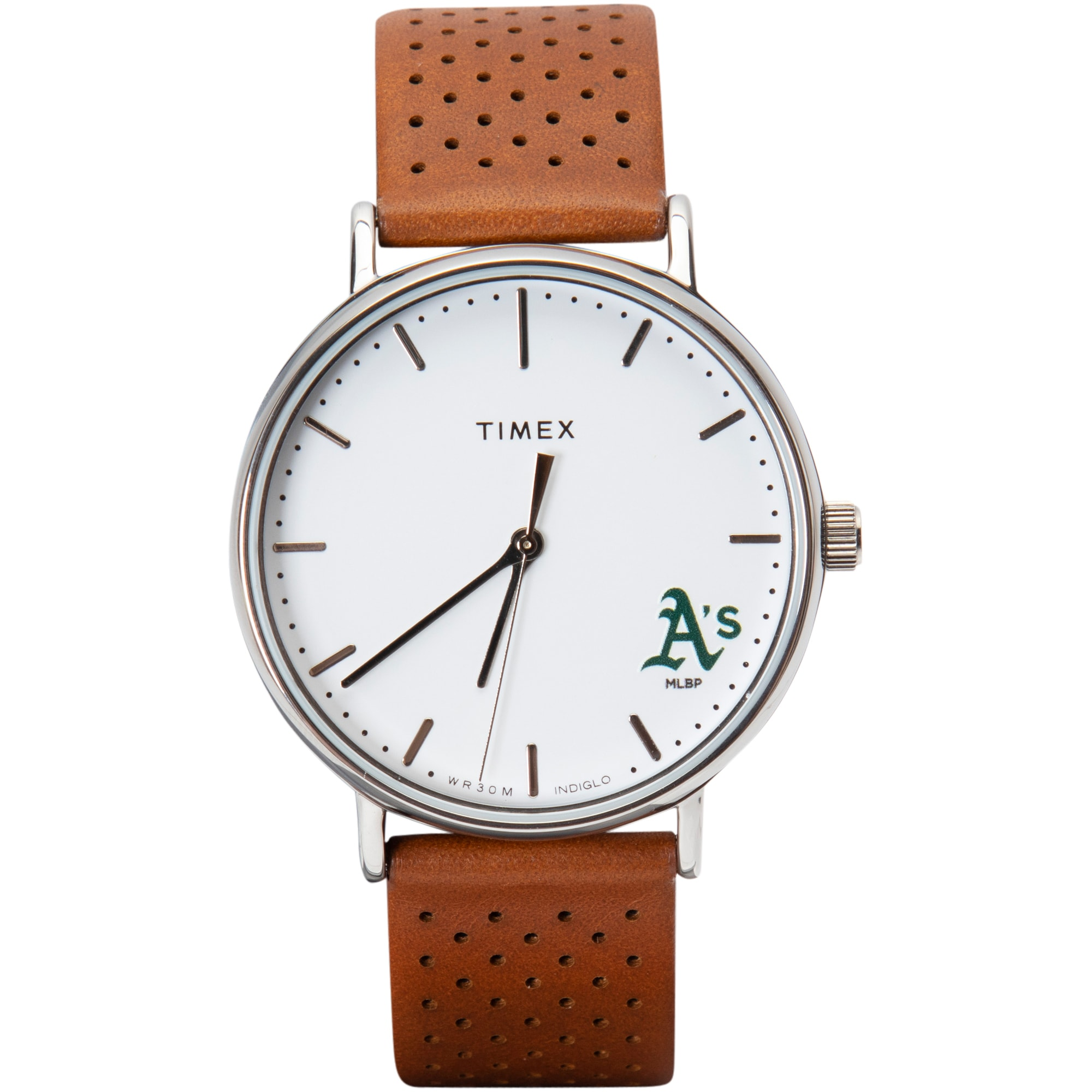 Oakland Athletics Timex Bright Whites Tribute Collection Watch