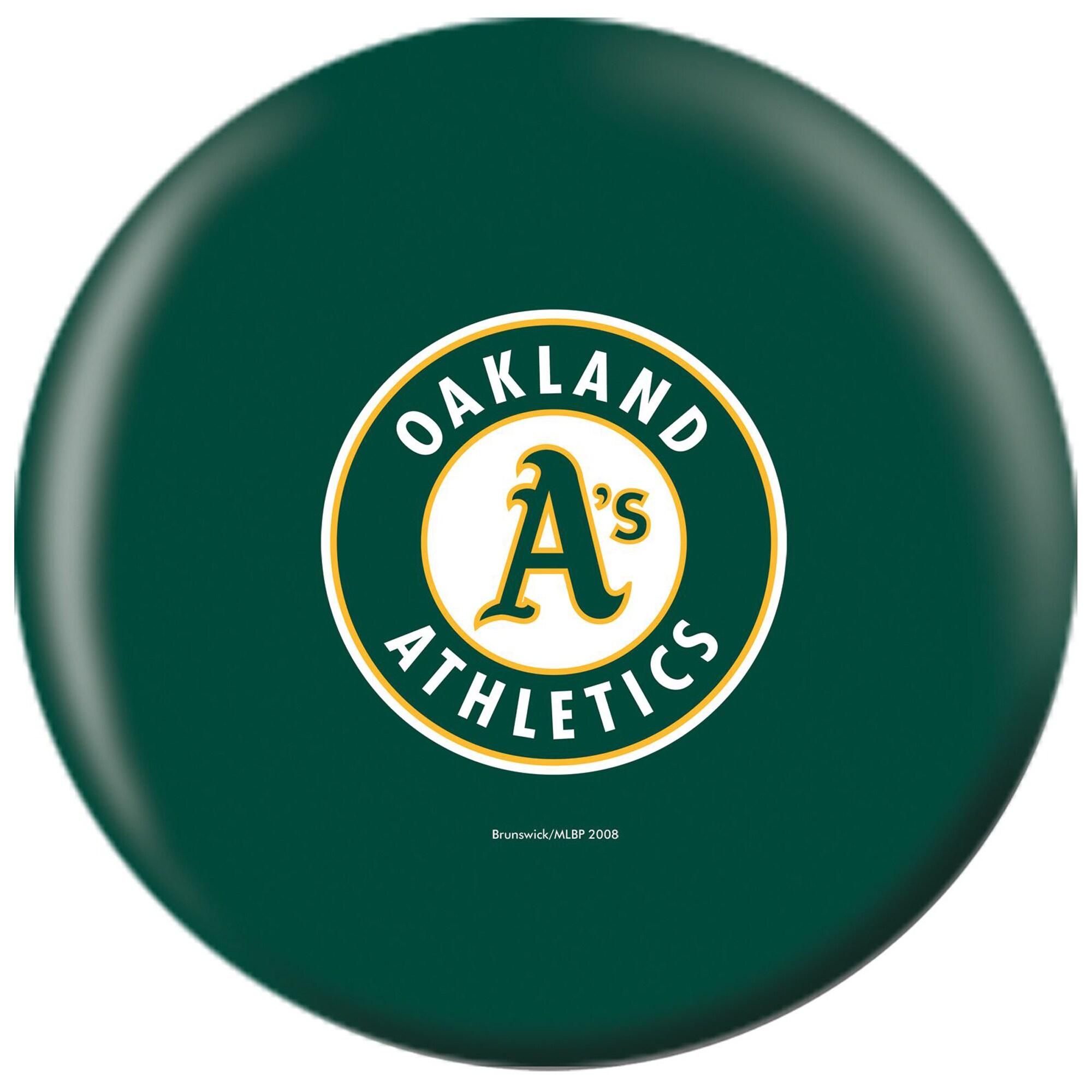 Oakland Athletics Bowling Ball