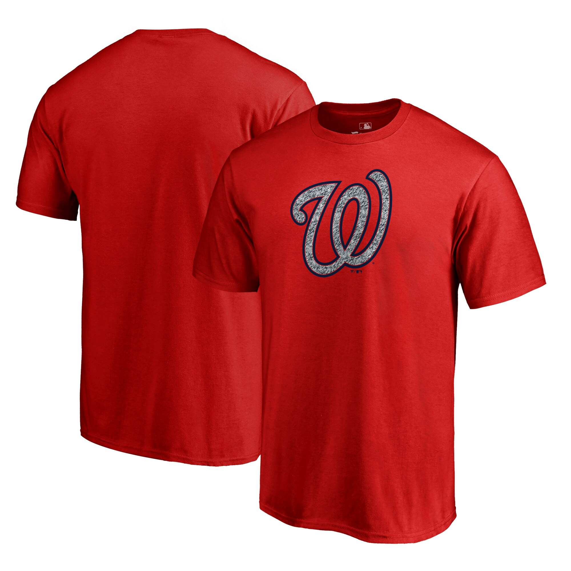Washington Nationals Fanatics Branded Static Logo Big & Tall T-Shirt - Red