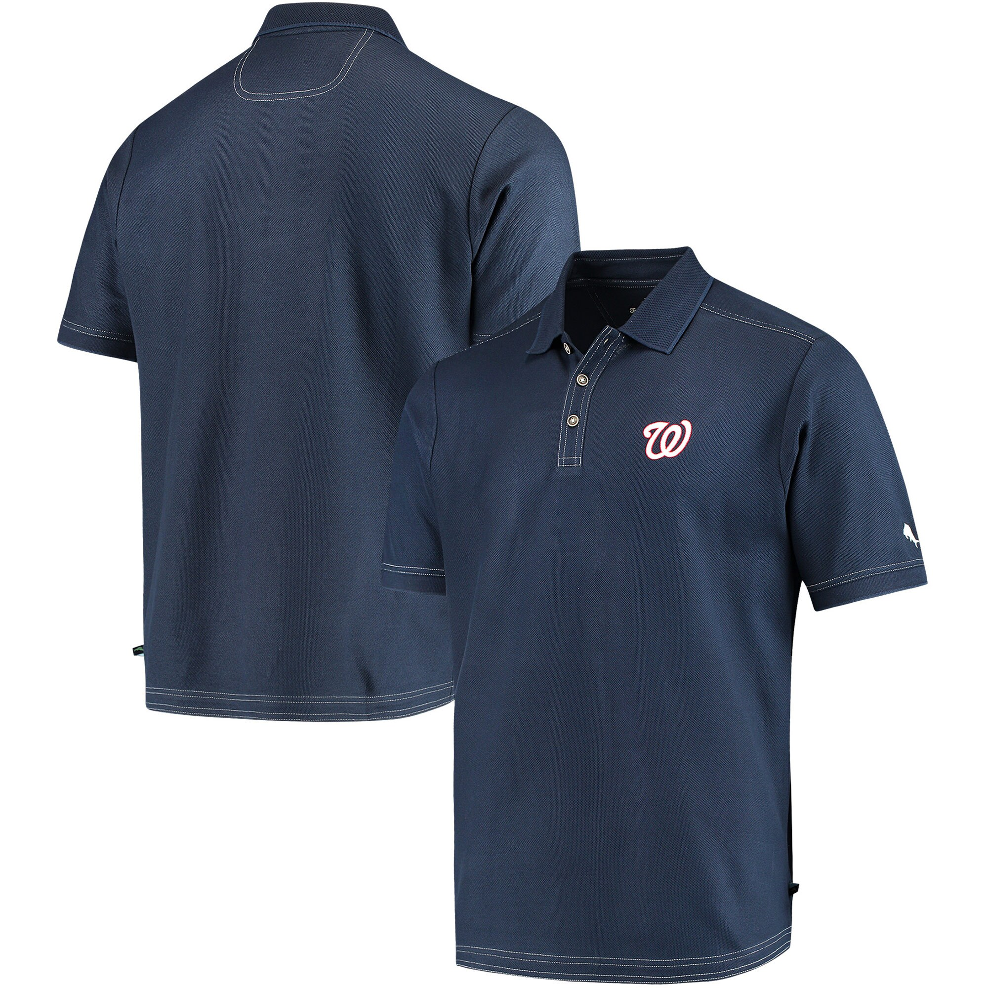 Washington Nationals Tommy Bahama Emfielder Core Polo - Navy