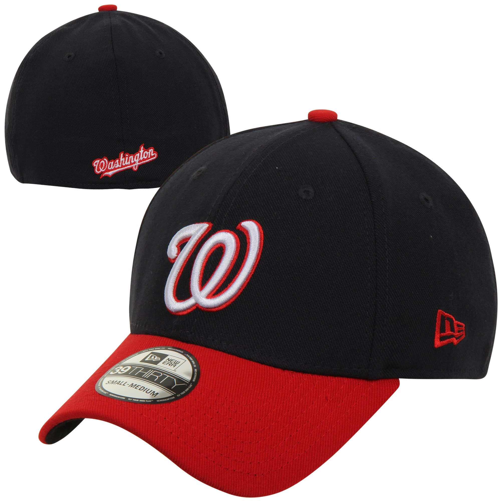 Washington Nationals New Era MLB Team Classic Alternate 39THIRTY Flex Hat - Navy