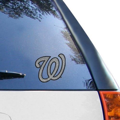 Washington Nationals Bling Emblem Car Decal