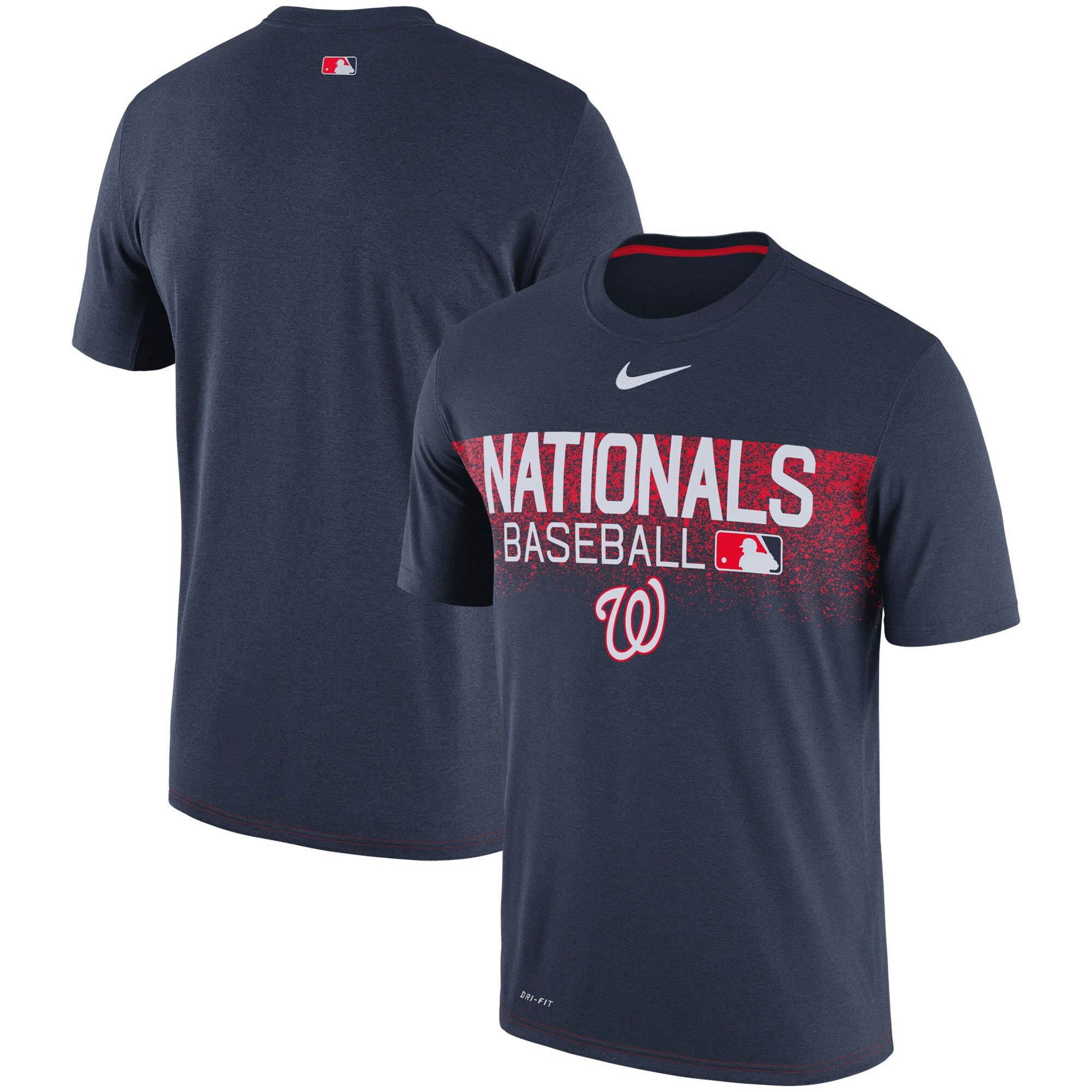 Washington Nationals Nike Authentic Collection Legend Team Issued Performance T-Shirt - Navy