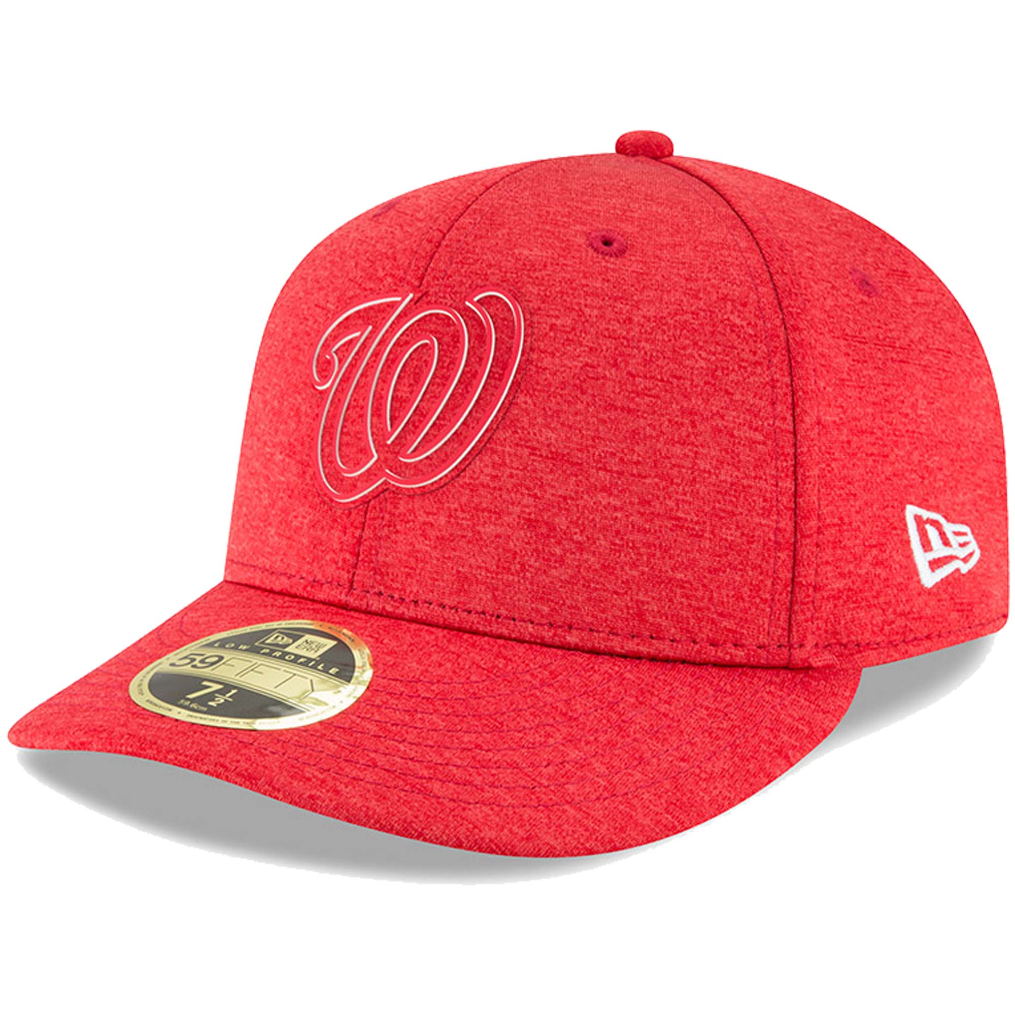 Washington Nationals New Era 2018 Clubhouse Collection Low Profile 59FIFTY Fitted Hat - Red