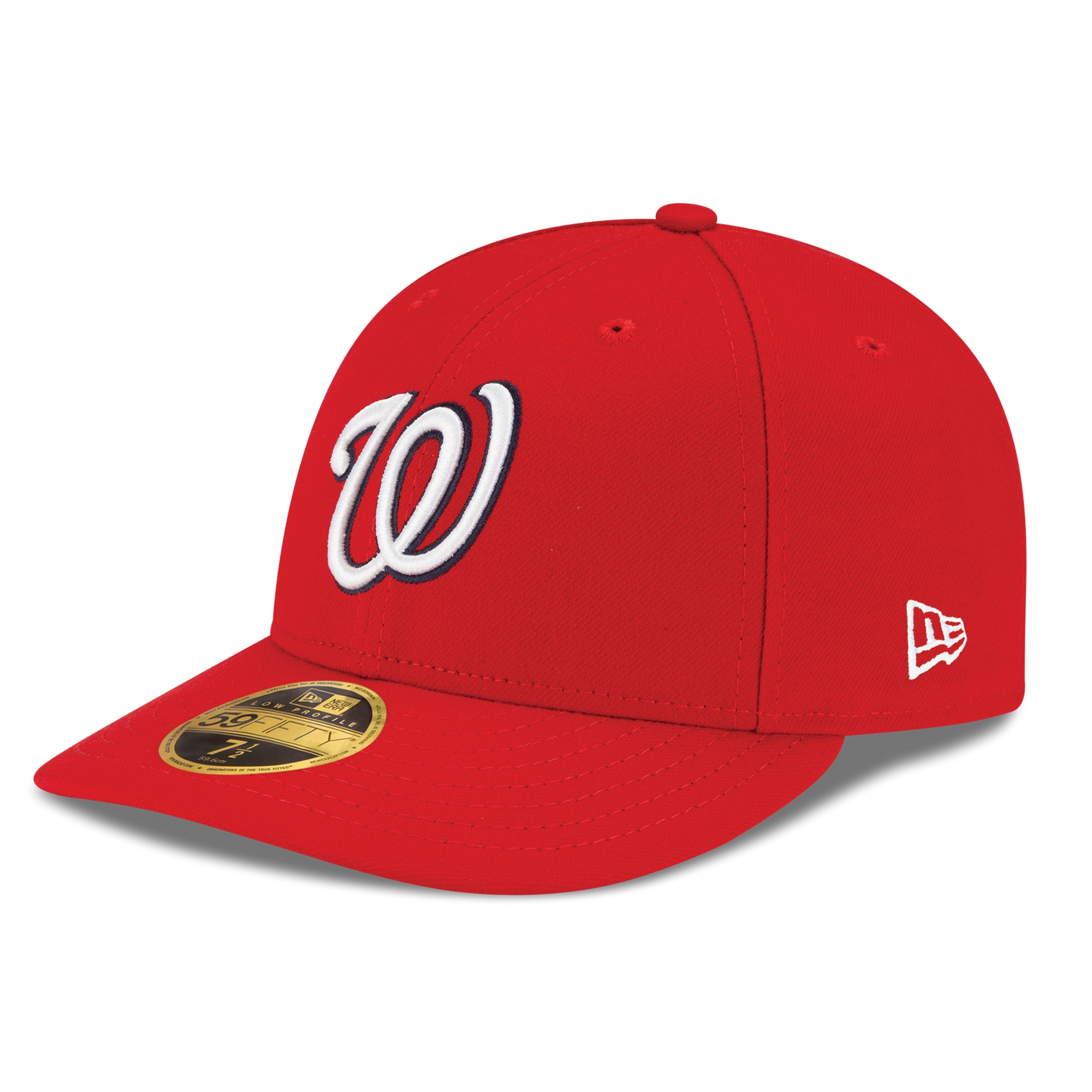 Washington Nationals New Era Game Authentic Collection On-Field Low Profile 59FIFTY Fitted Hat - Red