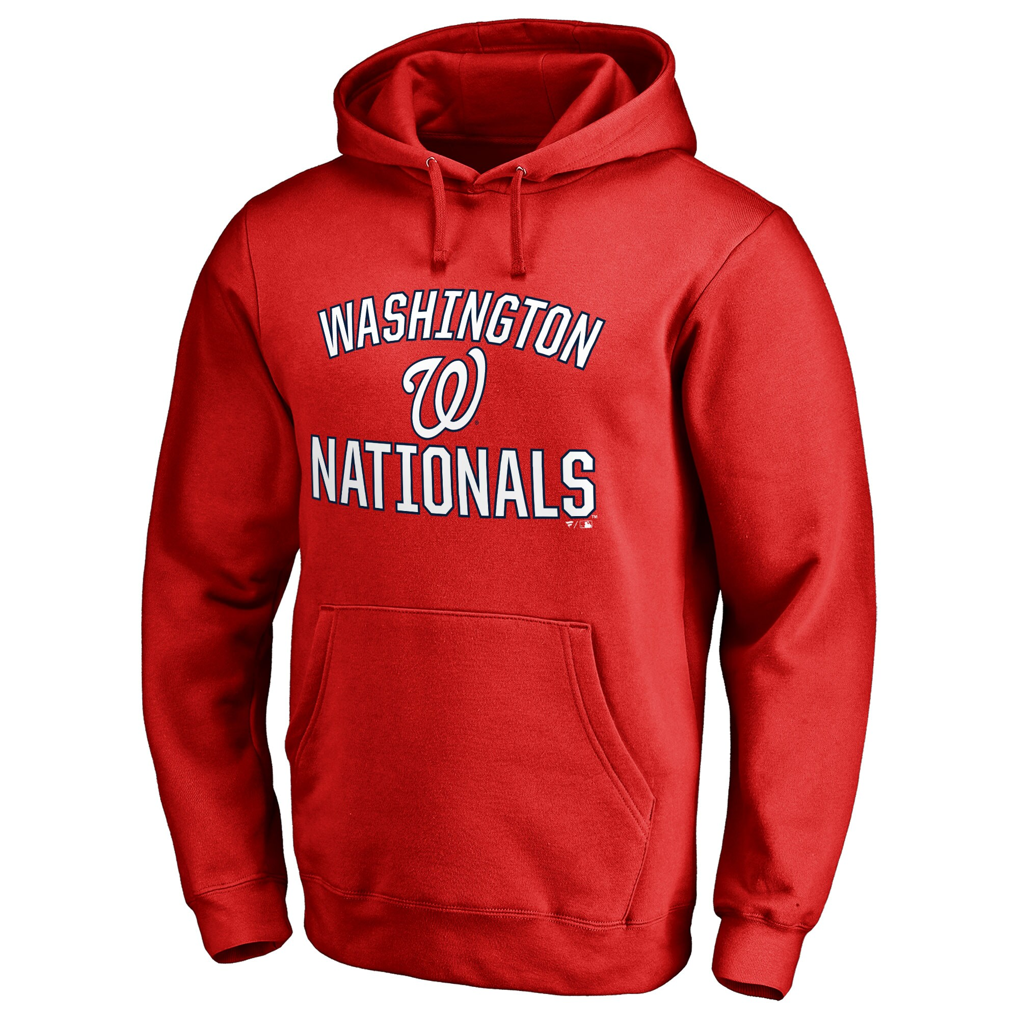 Washington Nationals Victory Arch Pullover Hoodie - Red