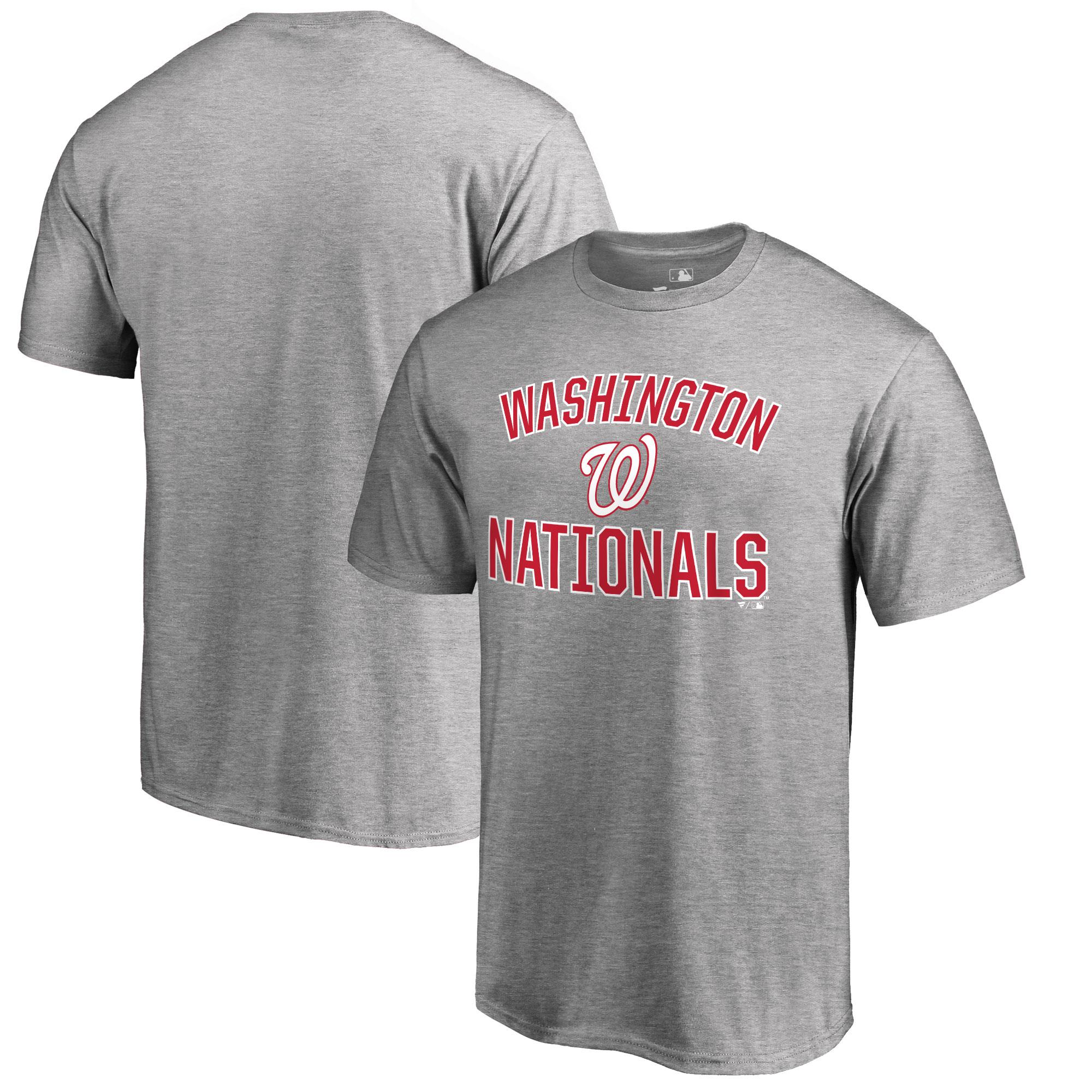 Washington Nationals Victory Arch T-Shirt - Ash