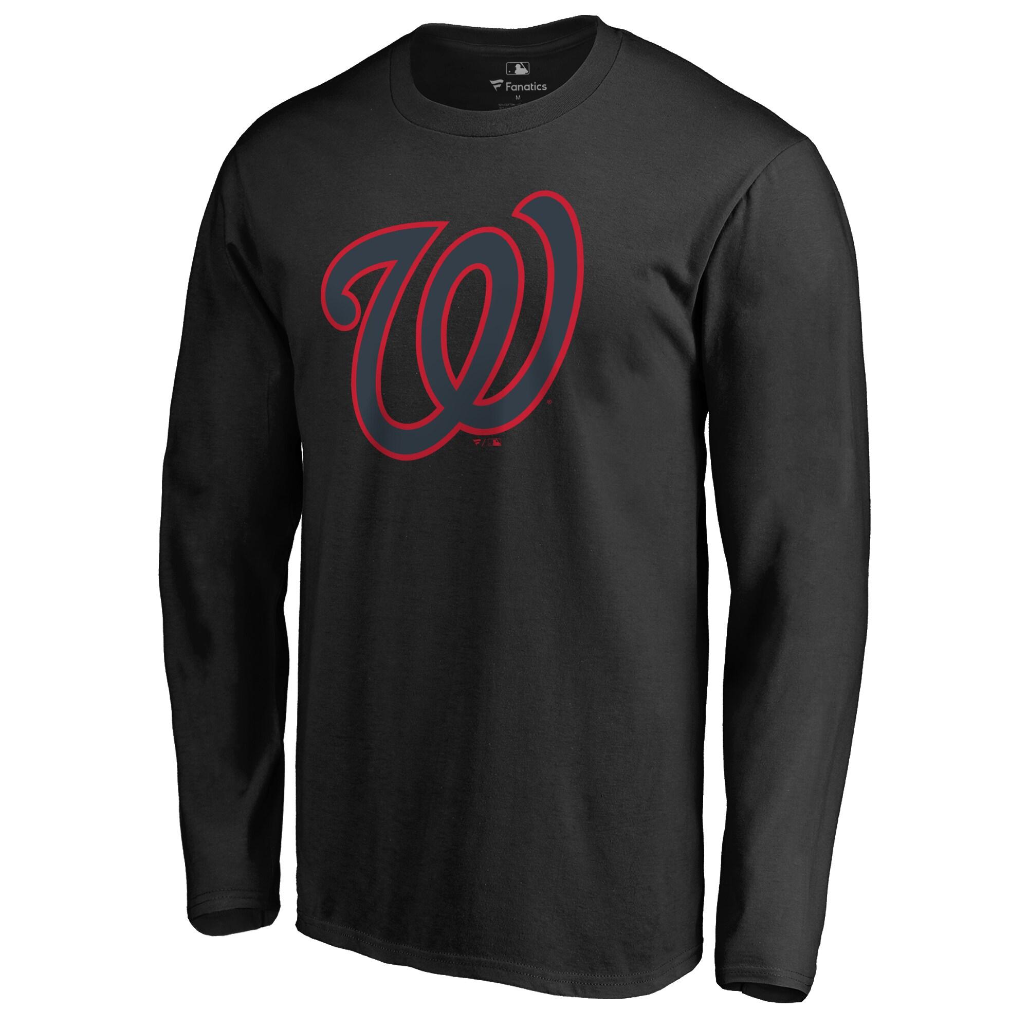 Washington Nationals Taylor Long Sleeve T-Shirt - Black