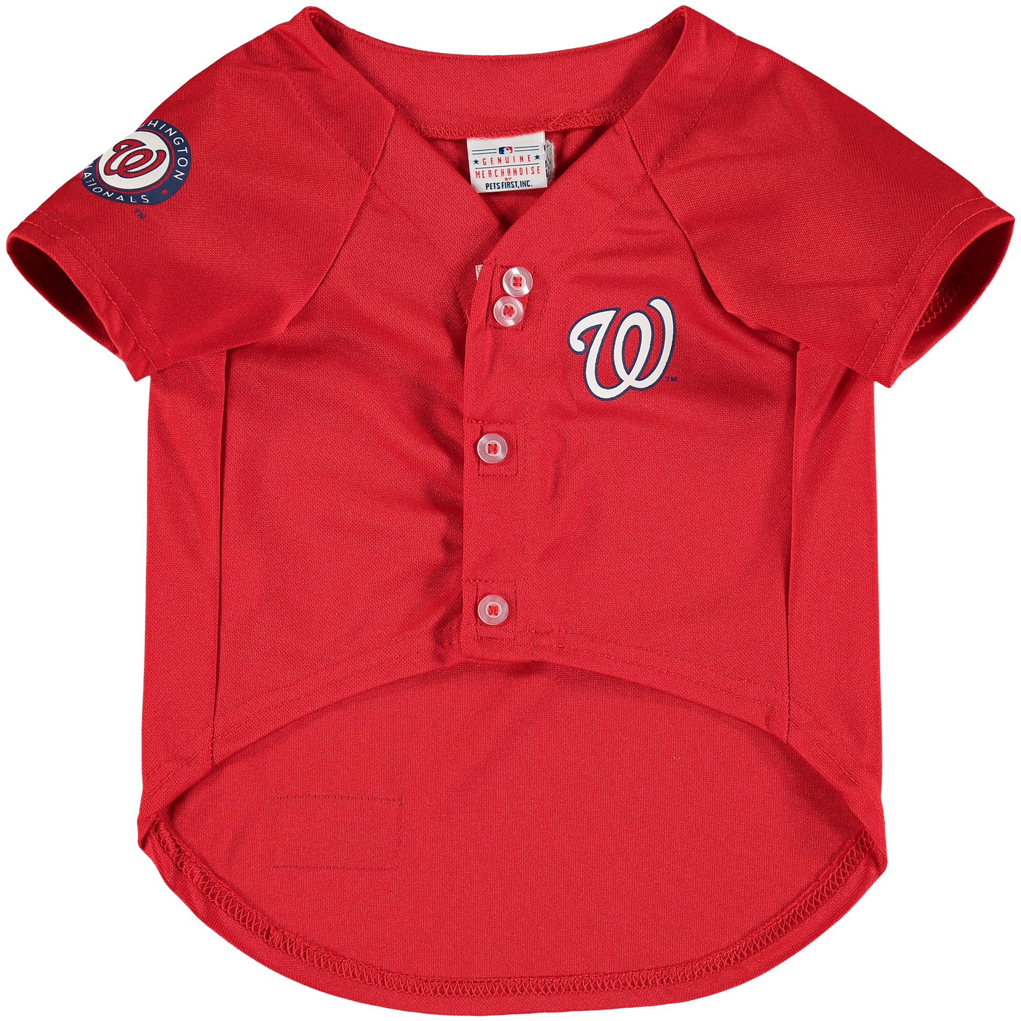 Washington Nationals MLB Dog Jersey