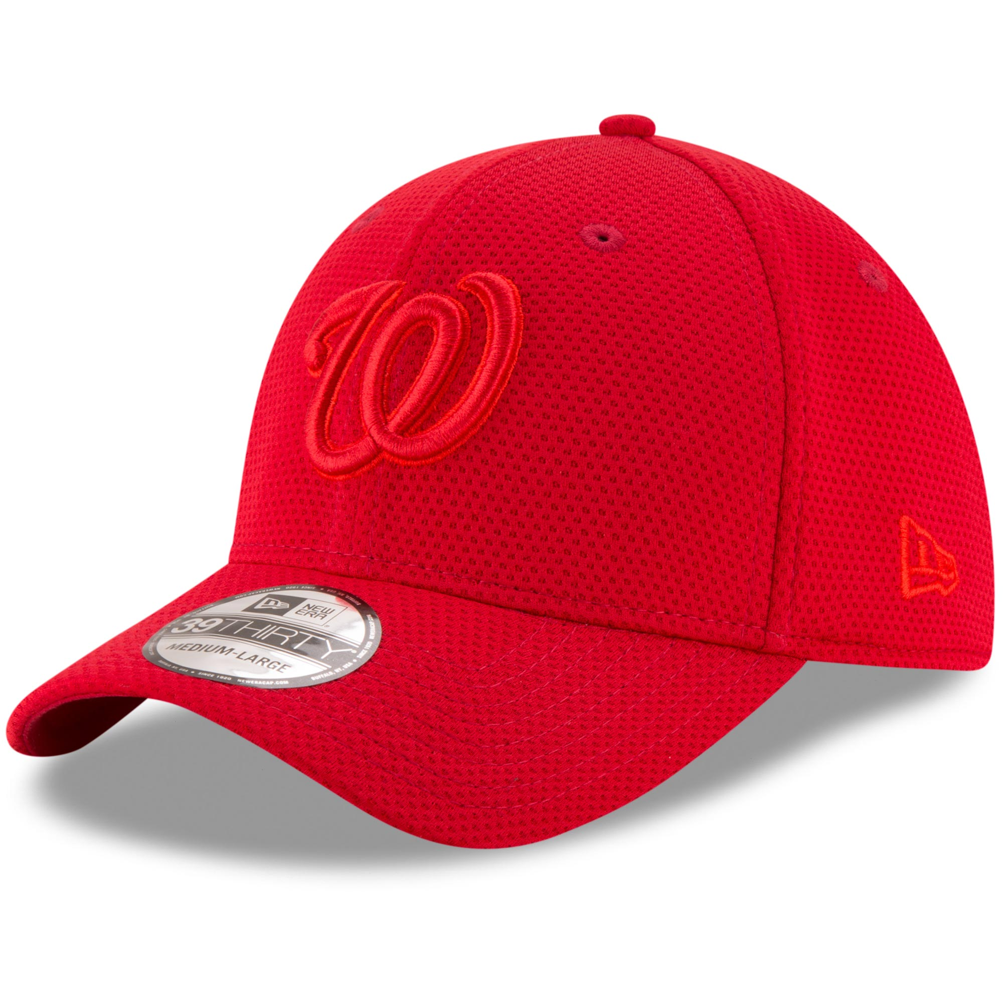 Washington Nationals New Era Tone Tech Redux 39THIRTY Flex Hat - Red