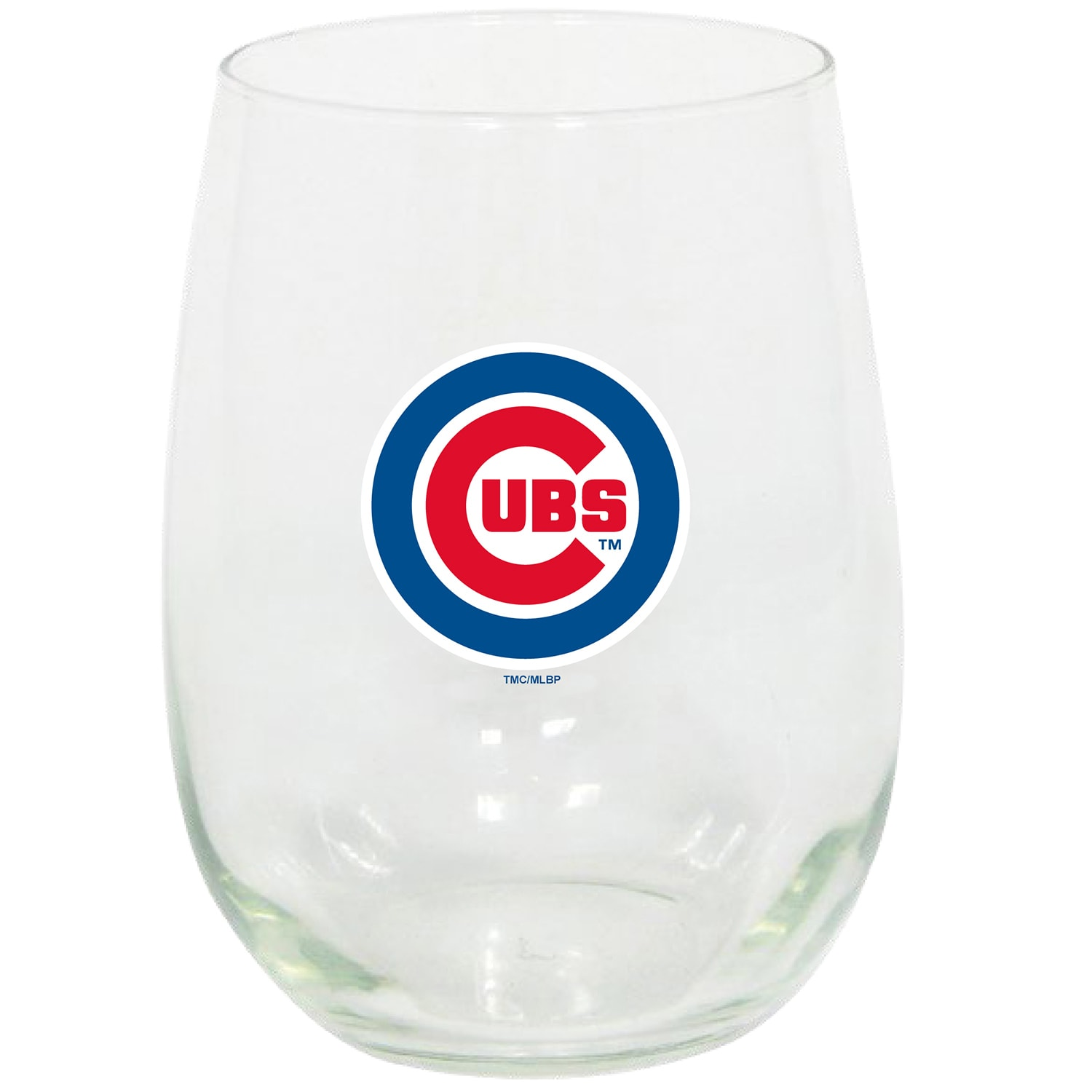 Chicago Cubs 15oz. Stemless Wine Glass