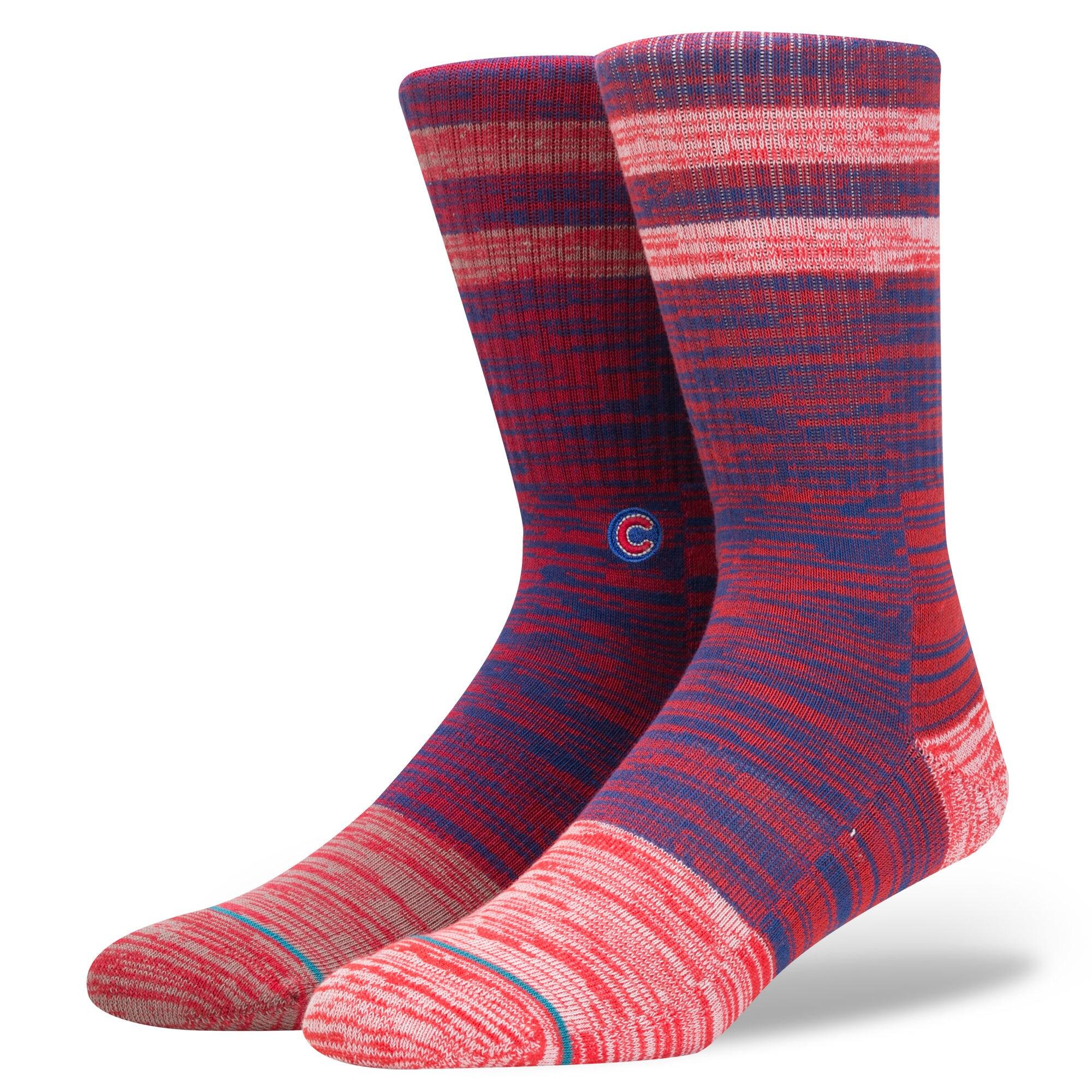 Chicago Cubs Greystone Crew Socks