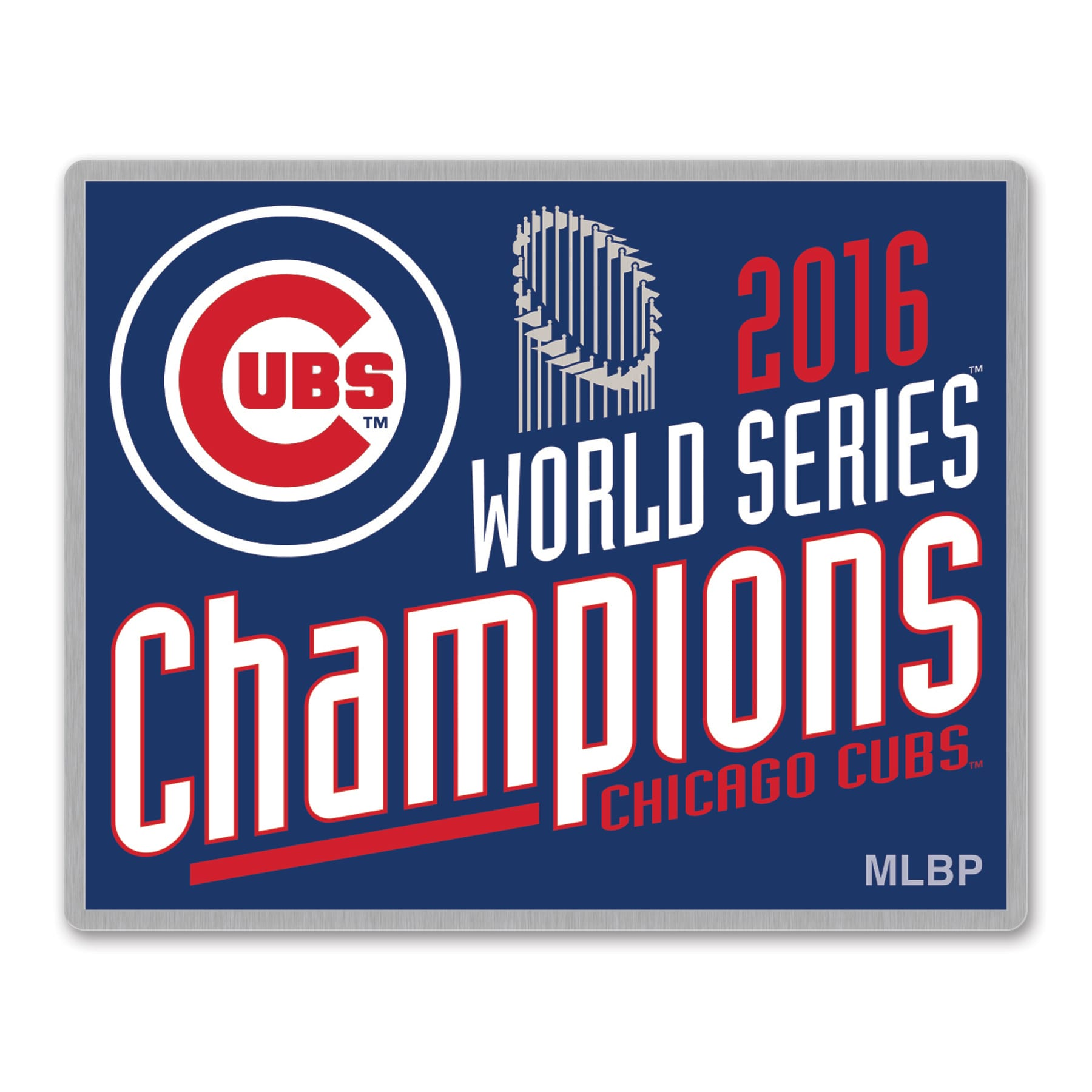 Chicago Cubs WinCraft 2016 World Series Champions Trophy Collector Pin