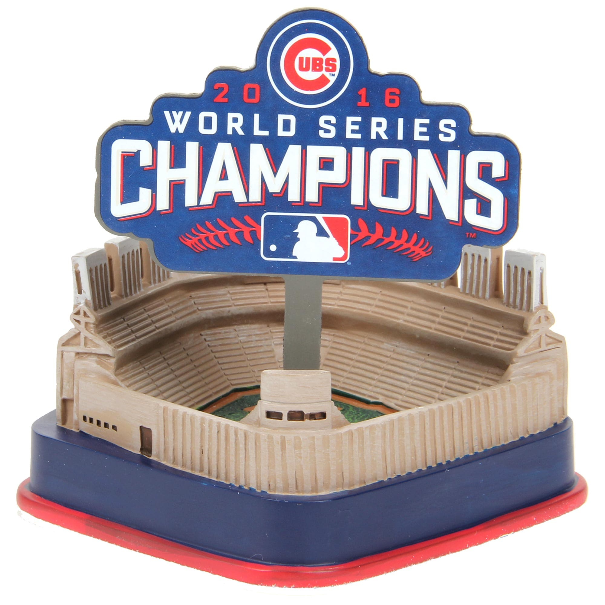 Chicago Cubs 2016 World Series Champions Replica Stadium