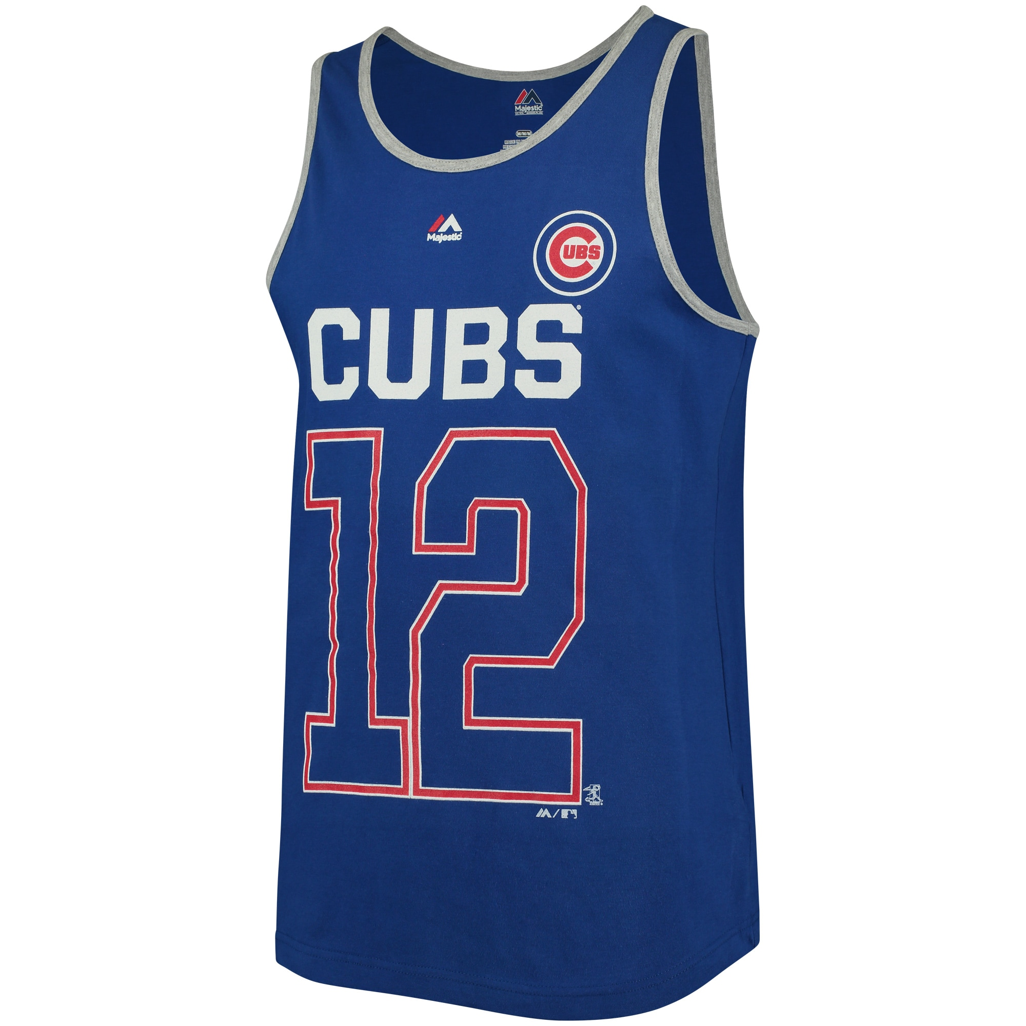 Kyle Schwarber Chicago Cubs Majestic Catch The Dream Tank Top - Royal