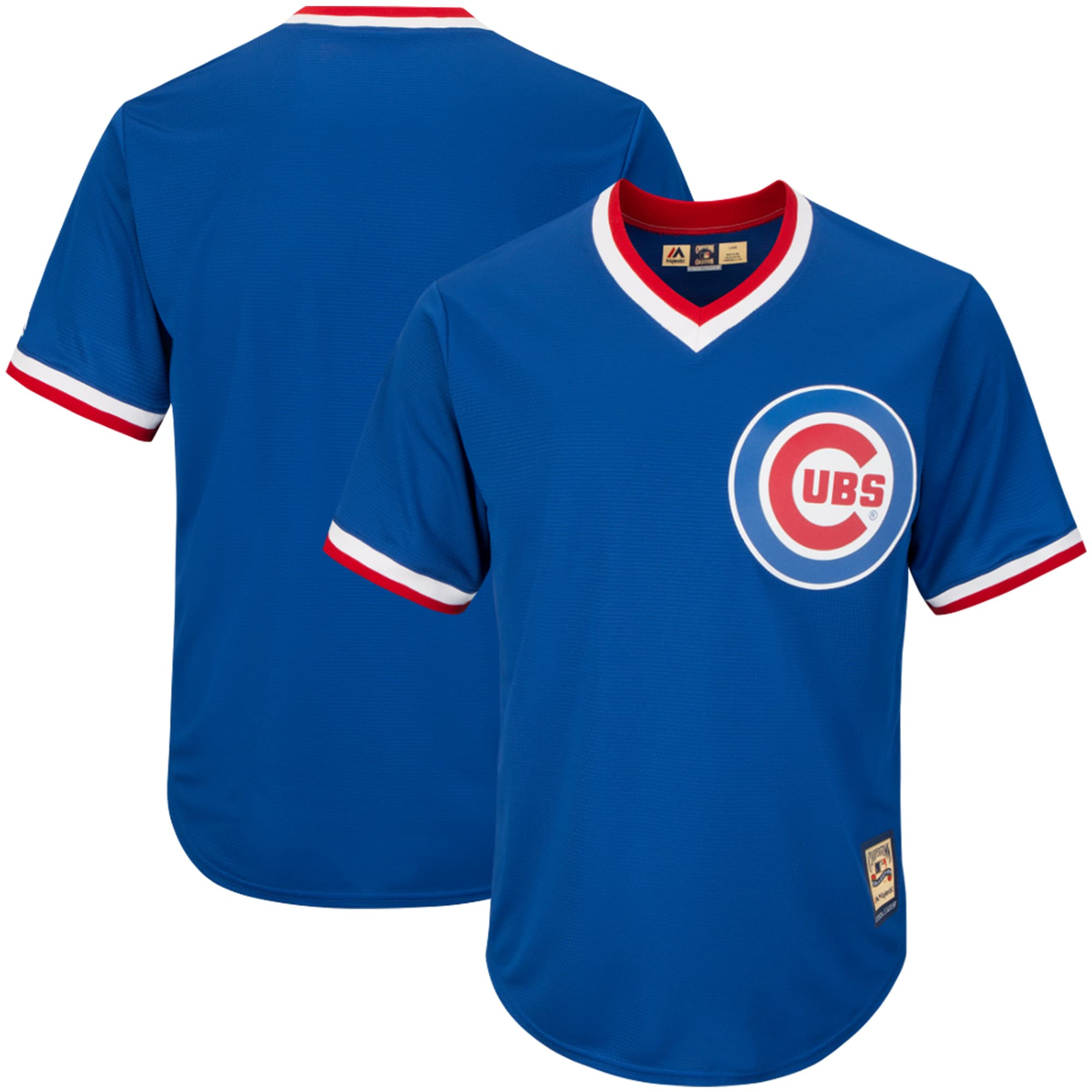 Chicago Cubs Majestic Cooperstown Cool Base Jersey - Royal