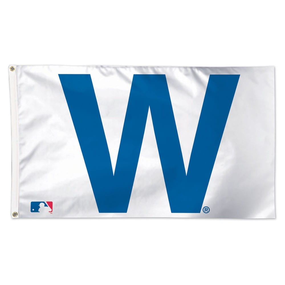 Chicago Cubs WinCraft Deluxe 3' x 5' W Flag