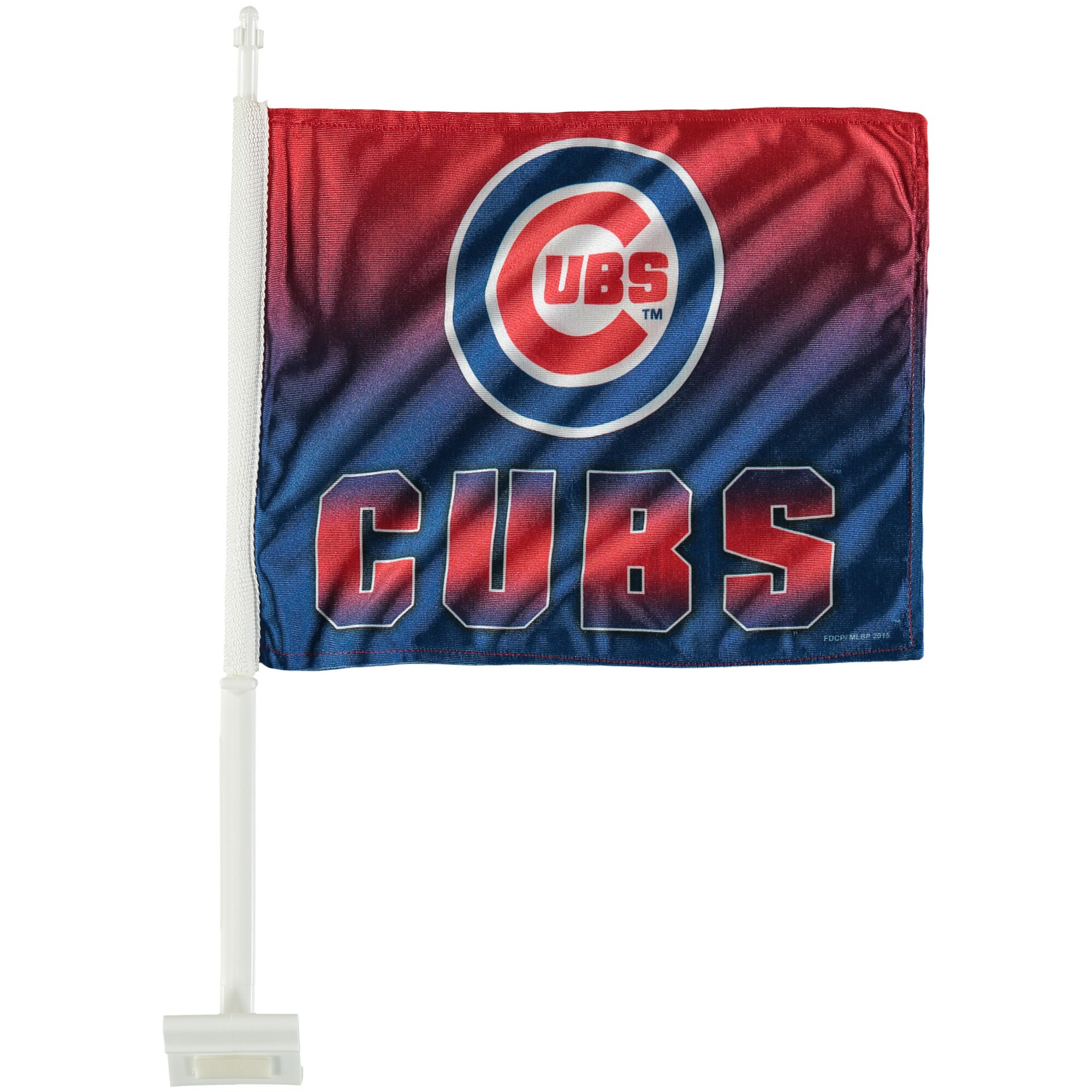 Chicago Cubs Ombre Car Flag
