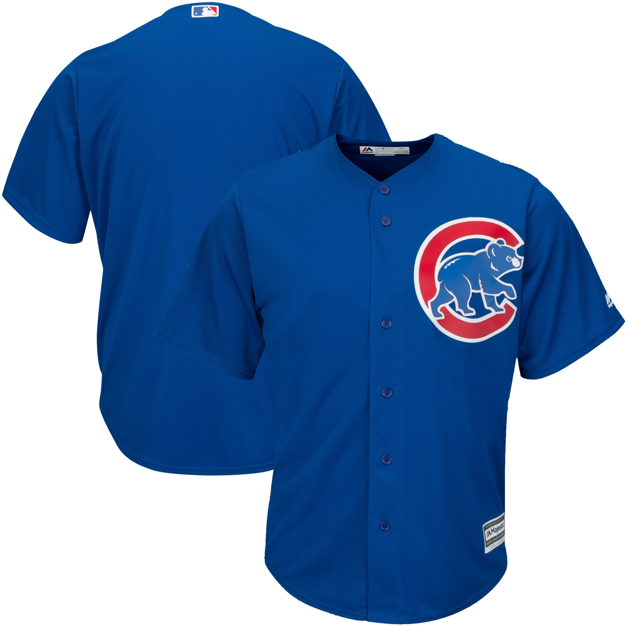 Chicago Cubs Majestic Alternate Big & Tall Cool Base Team Jersey - Royal