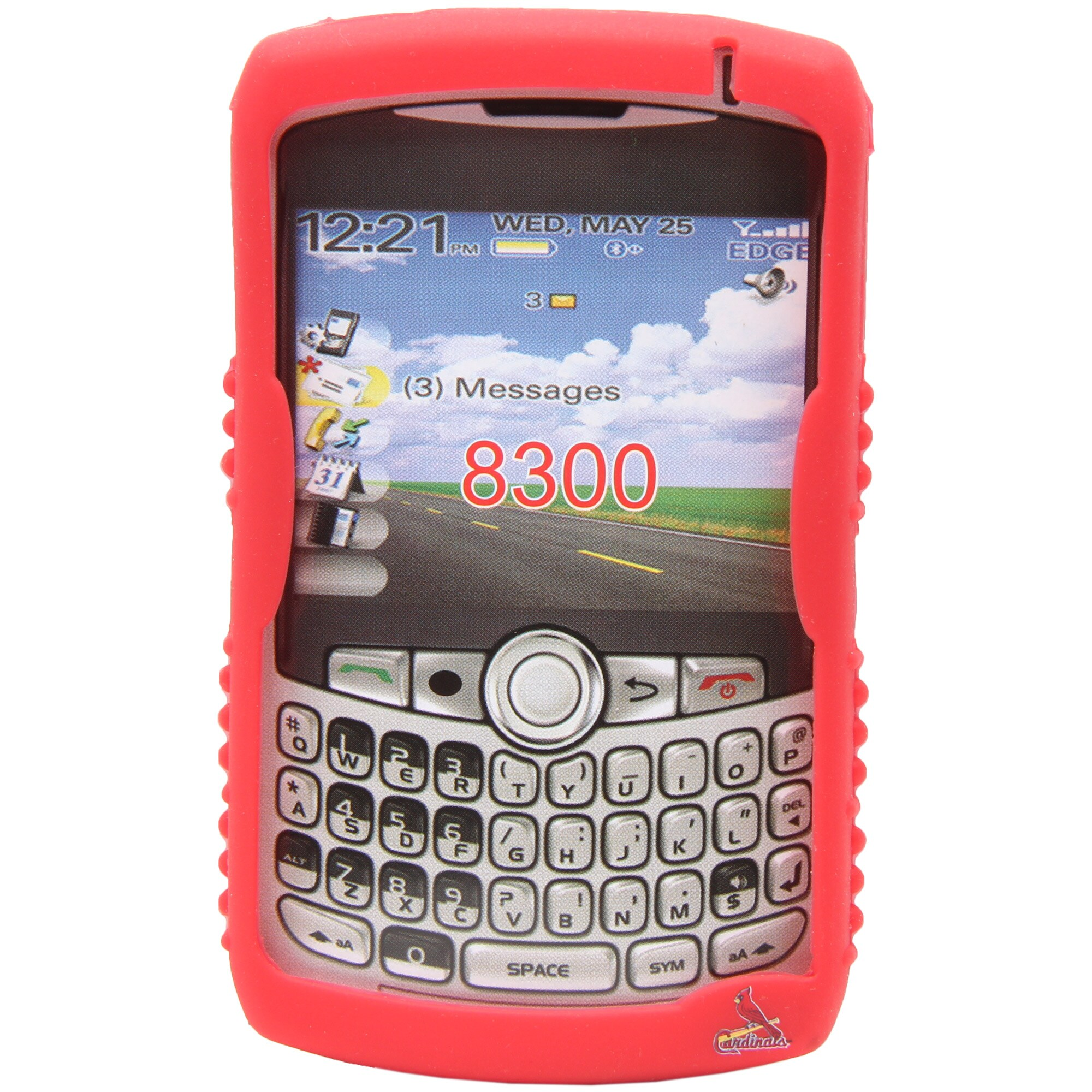 Cincinnati Reds BlackBerry Storm Cashmere Silicone Case - Red
