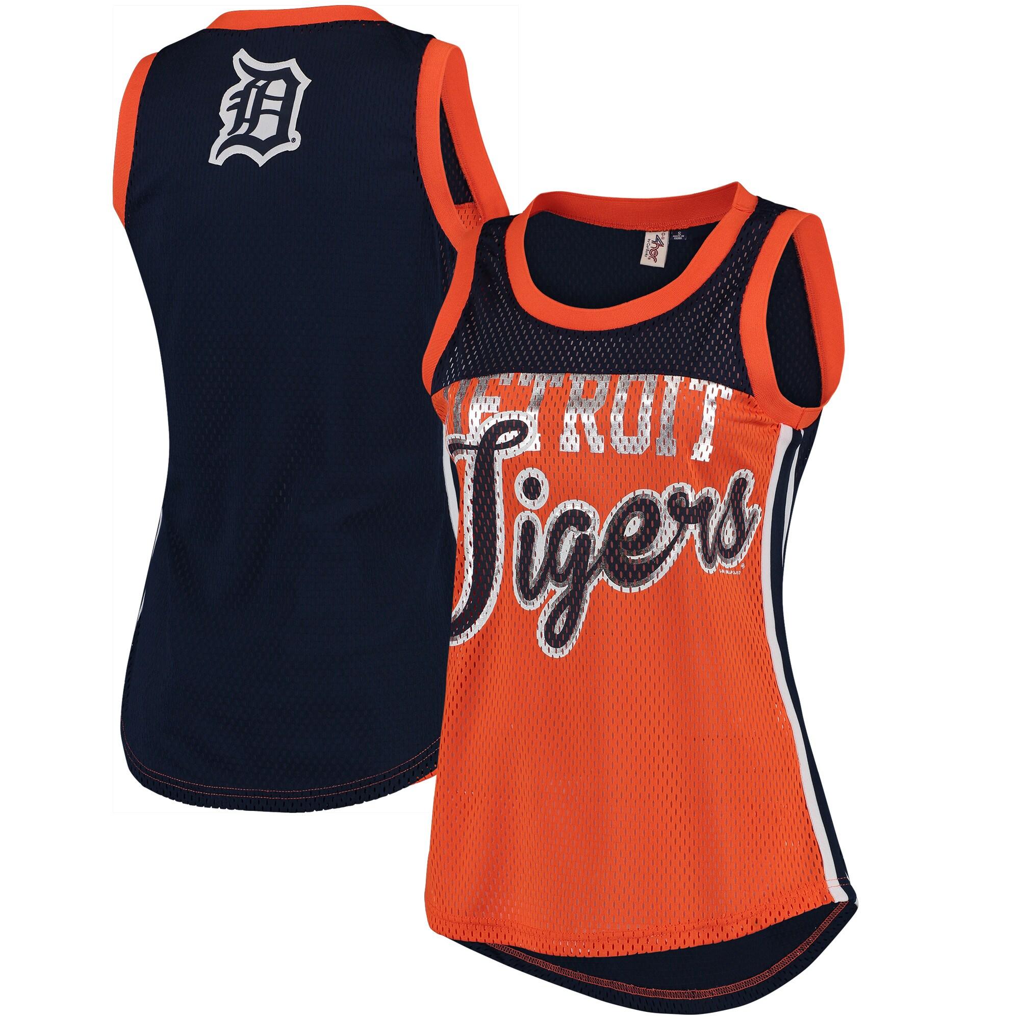 Detroit Tigers G-III 4Her by Carl Banks Women's Championship Tank Top - Orange/Navy