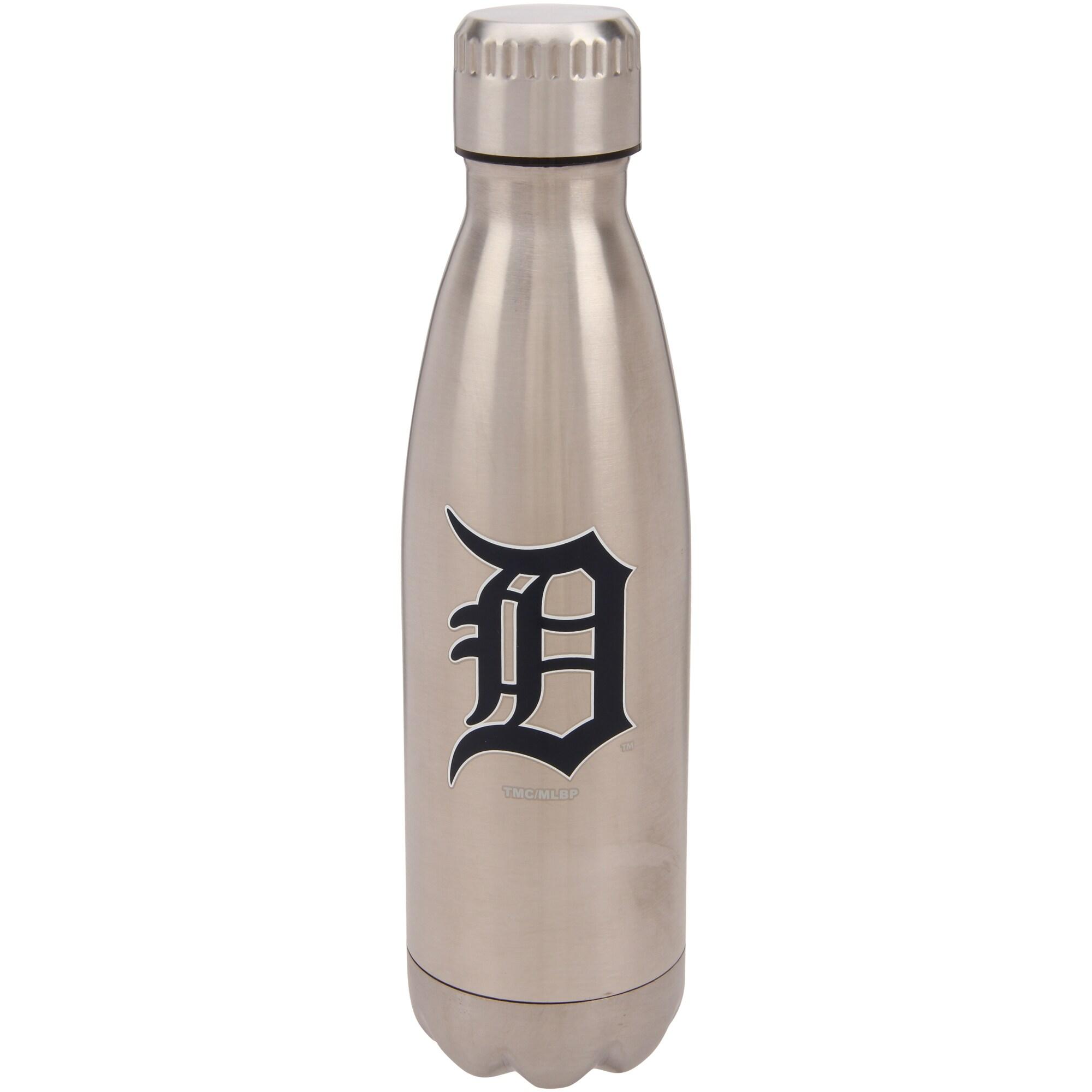 Detroit Tigers 16oz. Stainless Steel Water Bottle