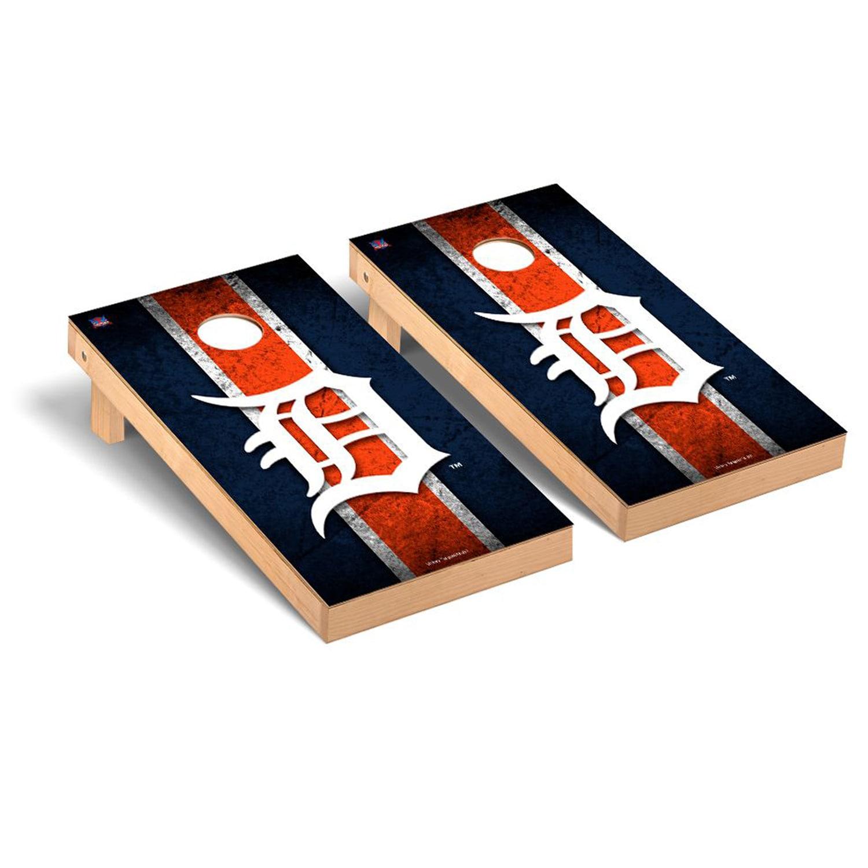 Detroit Tigers 2' x 4' Vintage Cornhole Board Tailgate Toss Set