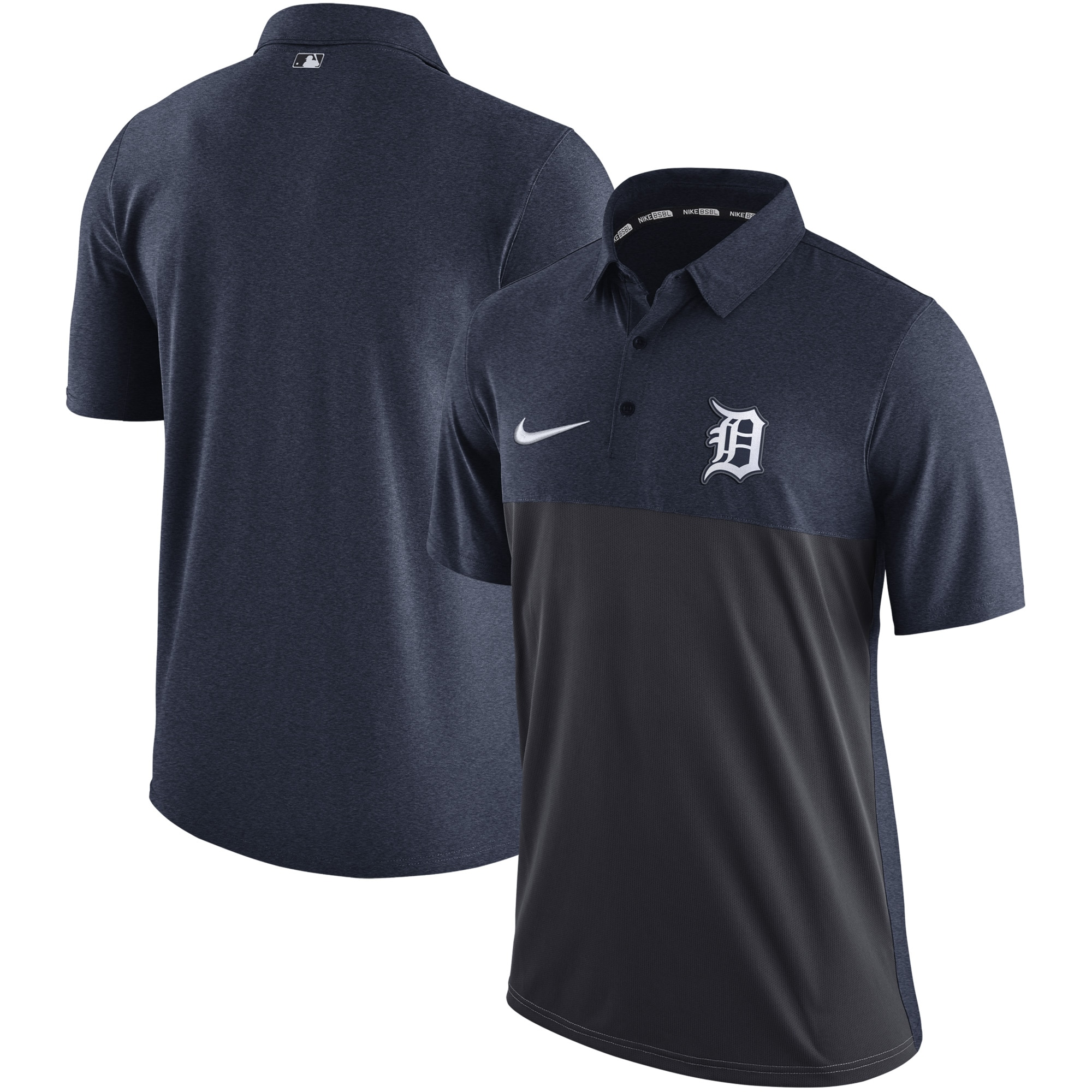 Detroit Tigers Nike Authentic Collection Elite Polo - Navy