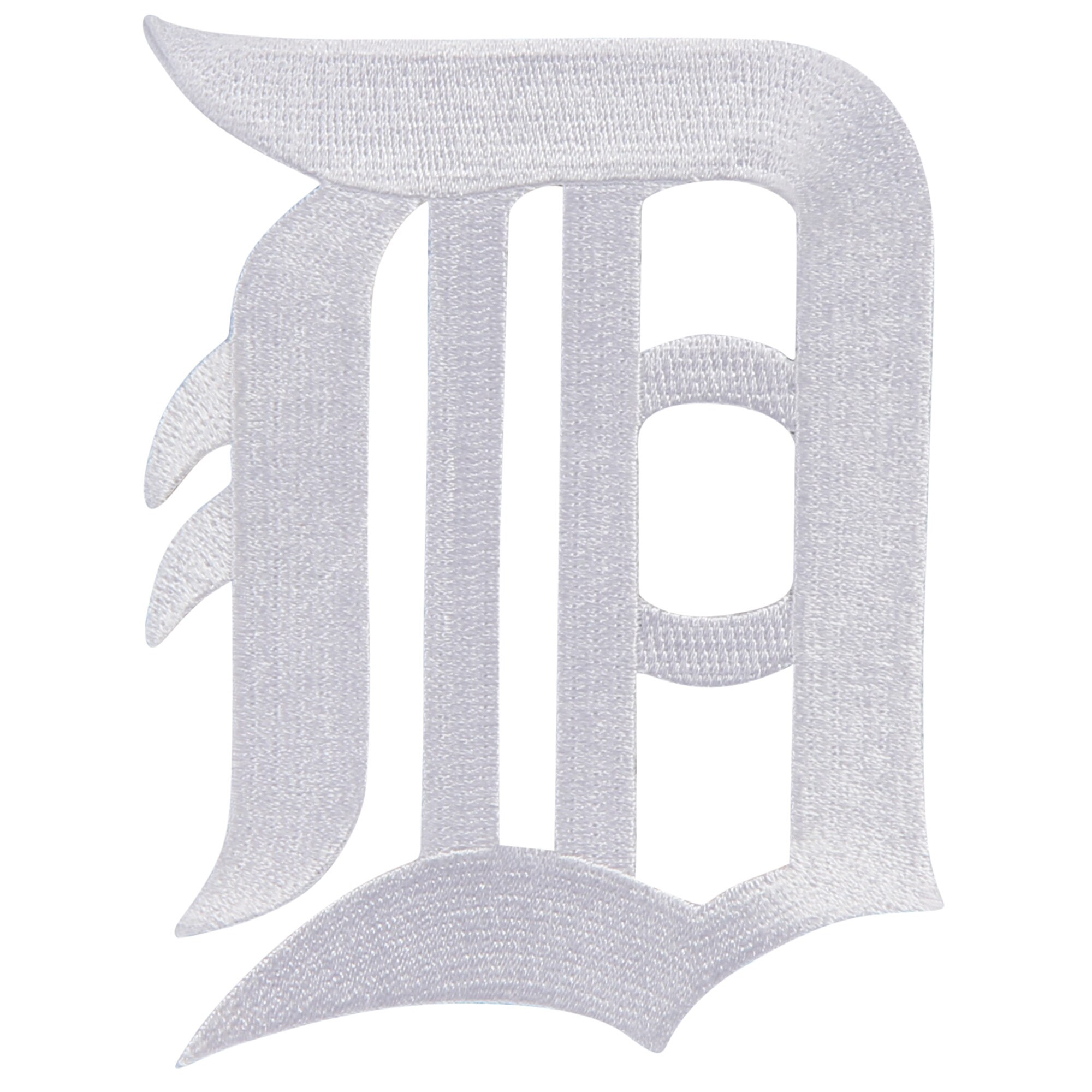 Detroit Tigers Primary Logo Patch - White