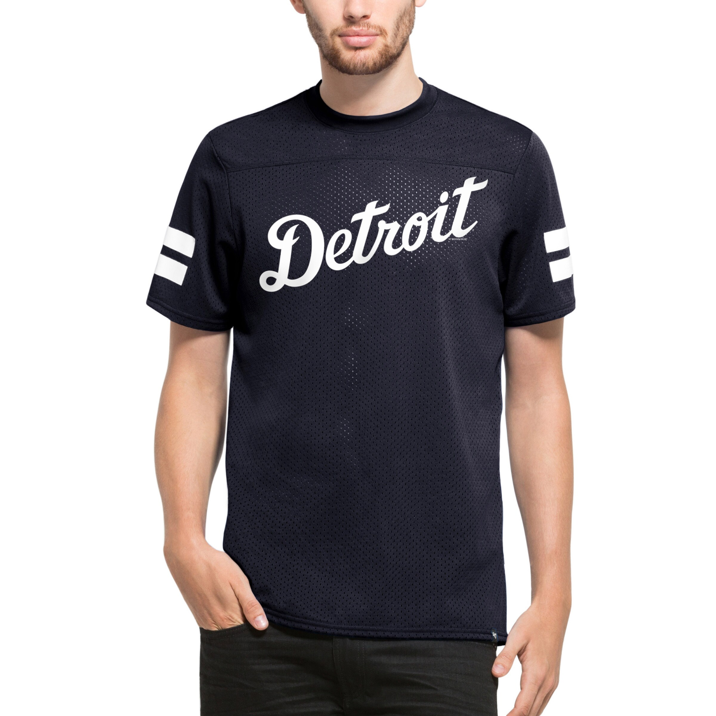 Detroit Tigers '47 Hangtime T-Shirt - Navy
