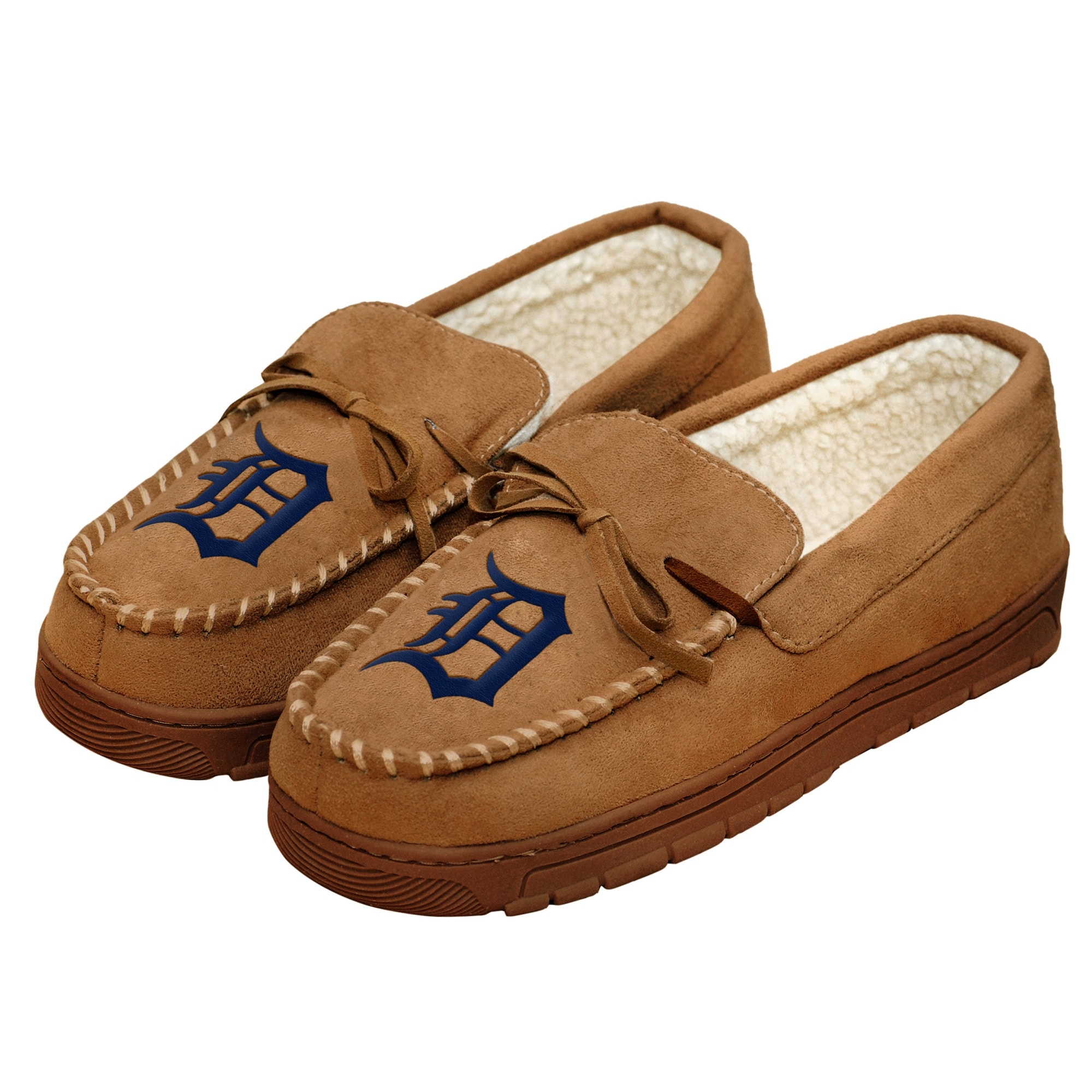 Detroit Tigers Moccasin Slippers