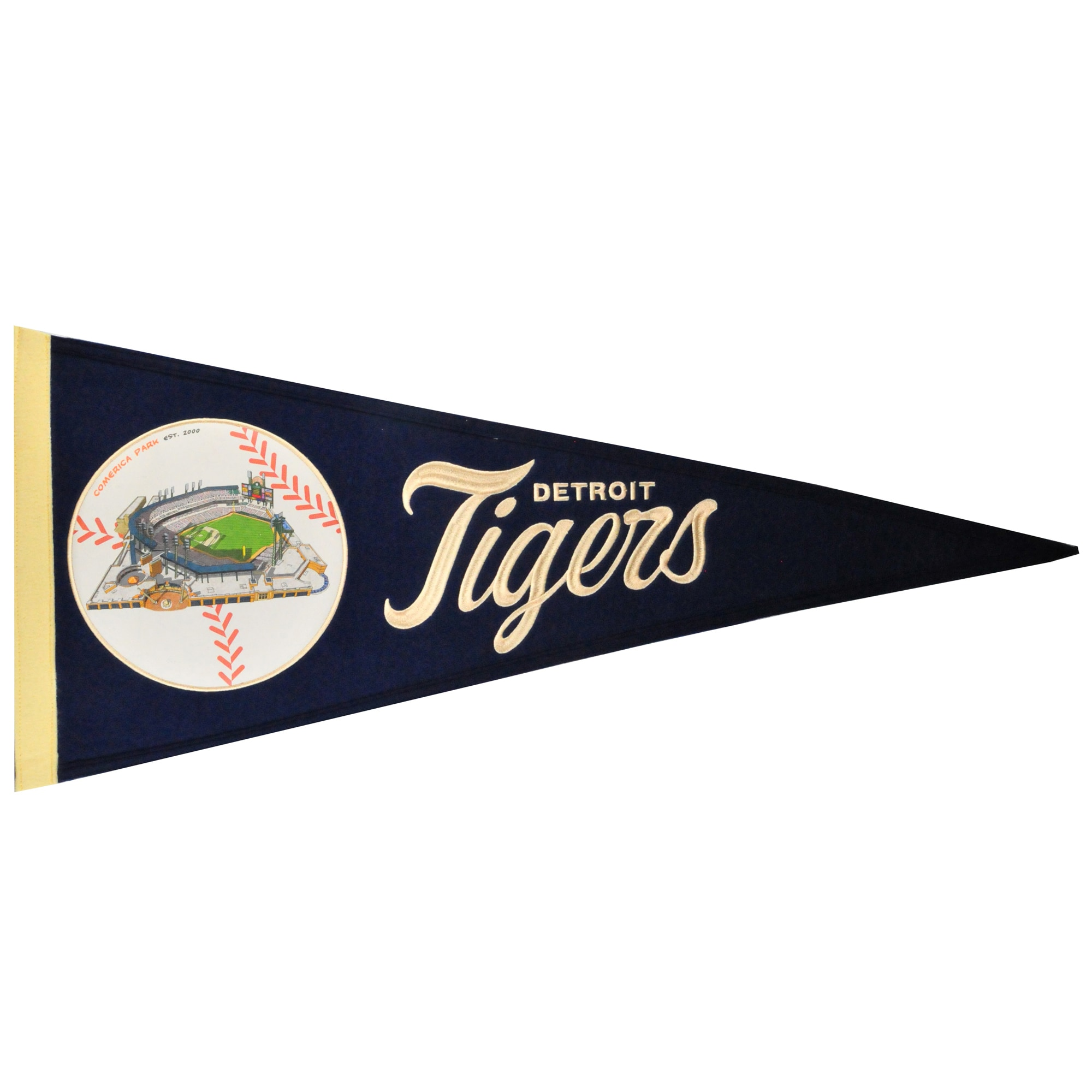 Detroit Tigers 13'' x 32'' Ballpark Traditions Pennant