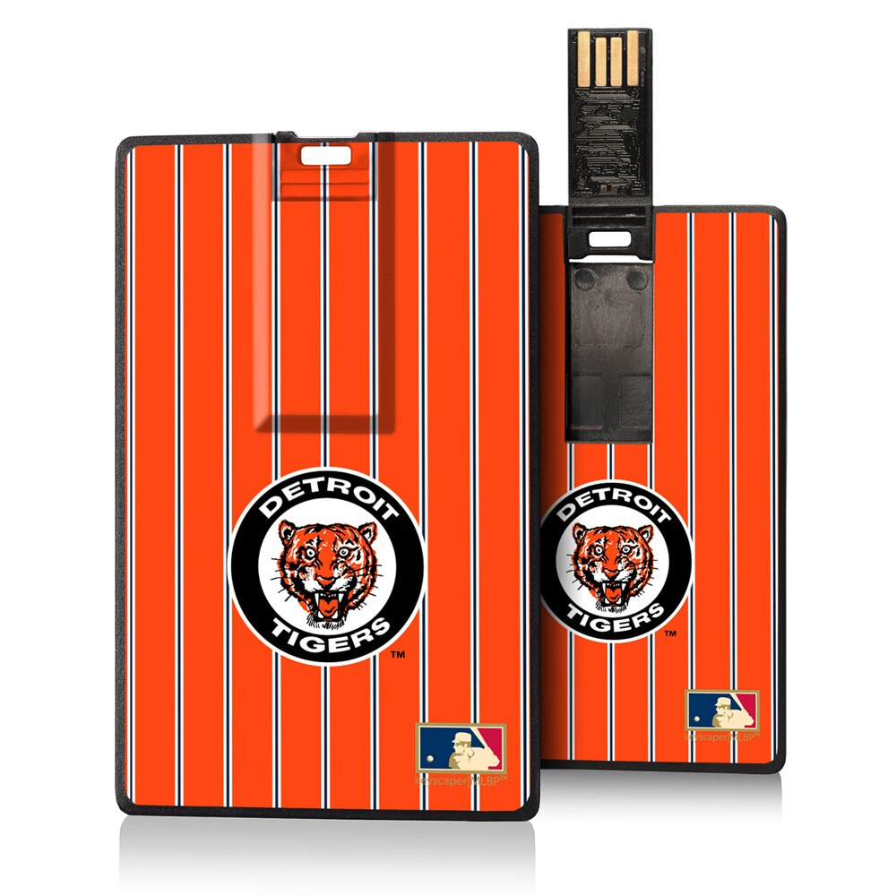 Detroit Tigers 1961-1963 Cooperstown Pinstripe Credit Card USB Drive