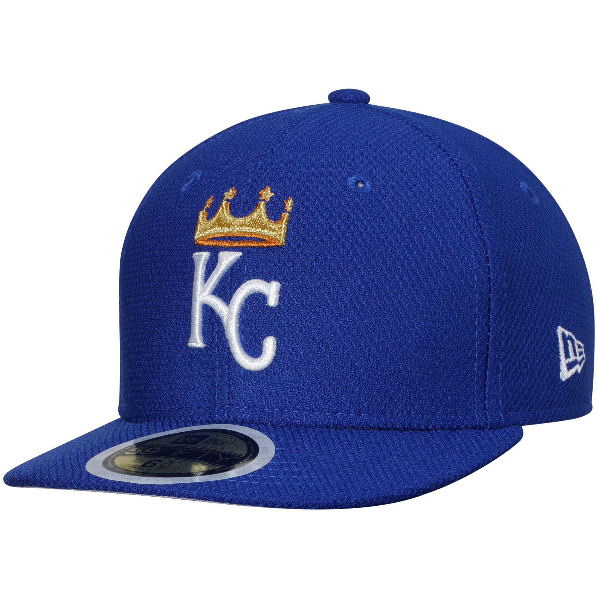 Kansas City Royals New Era Youth Diamond Era 59FIFTY Fitted Hat - Royal
