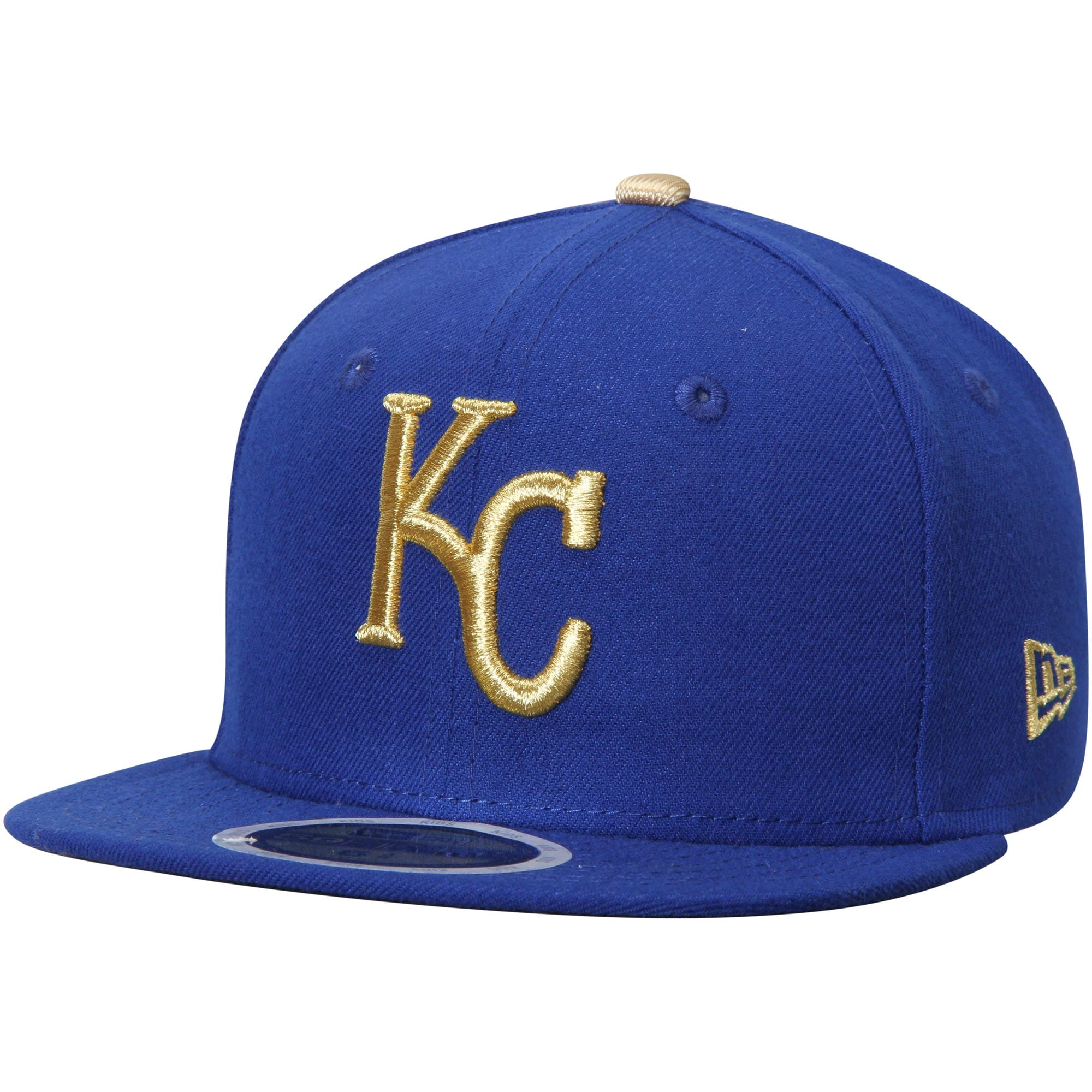 Kansas City Royals New Era Youth Authentic Collection On-Field Alternate 59FIFTY Fitted Hat - Royal