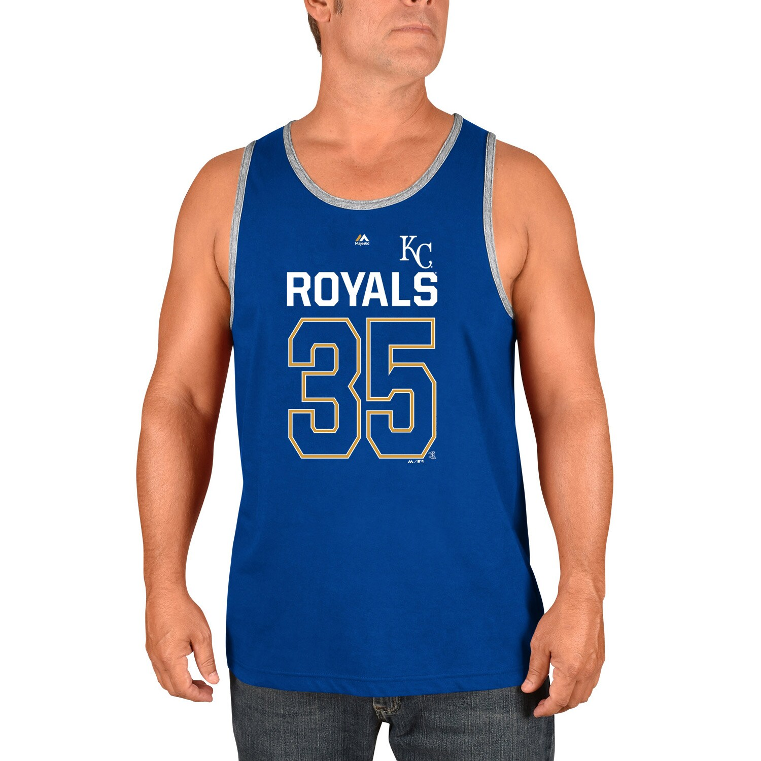 Eric Hosmer Kansas City Royals Majestic Catch The Dream Tank Top - Royal